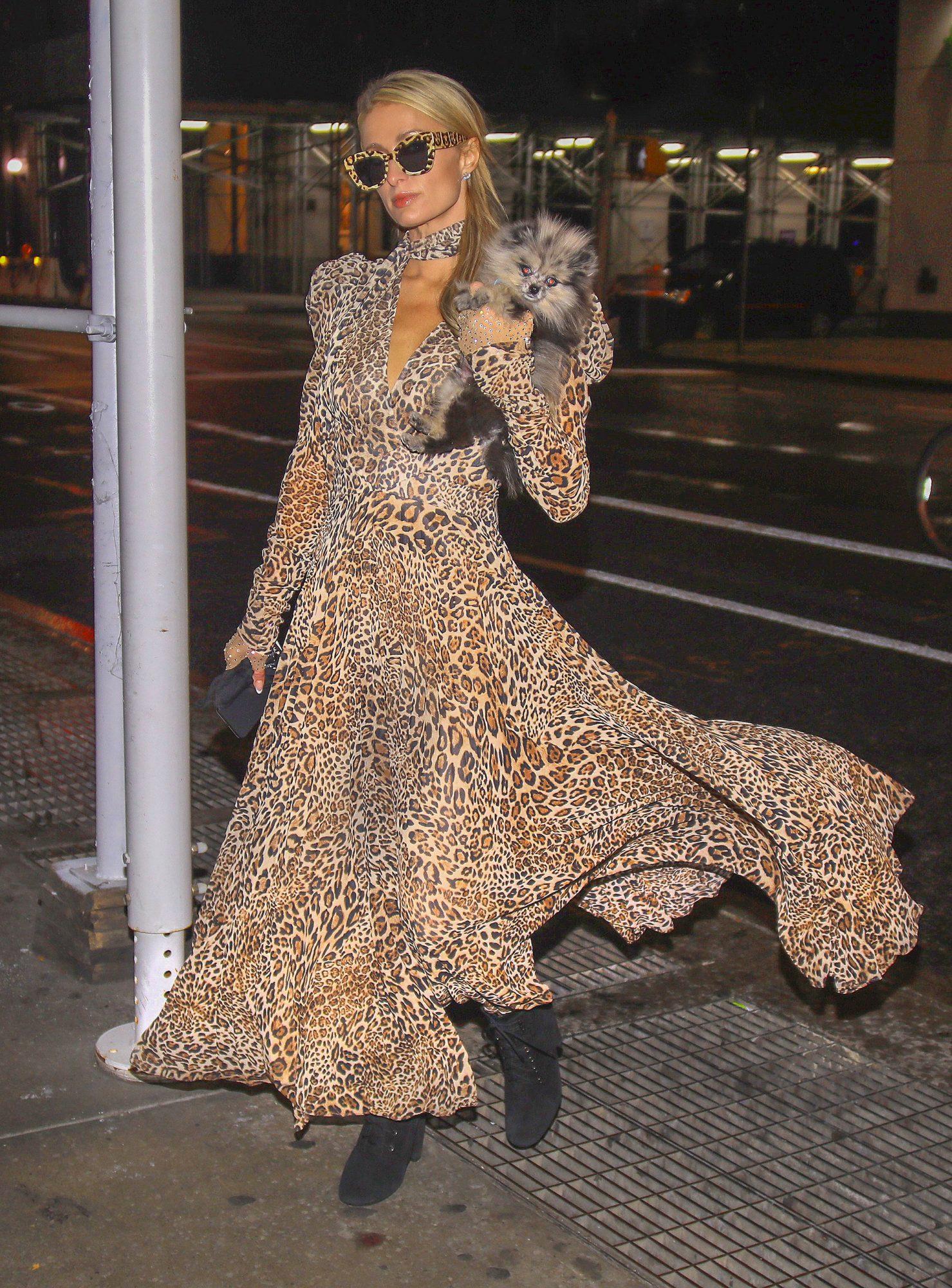 Paris Hilton, look, estilo, otono