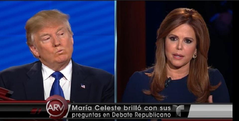 María Celeste/Donald Trump
