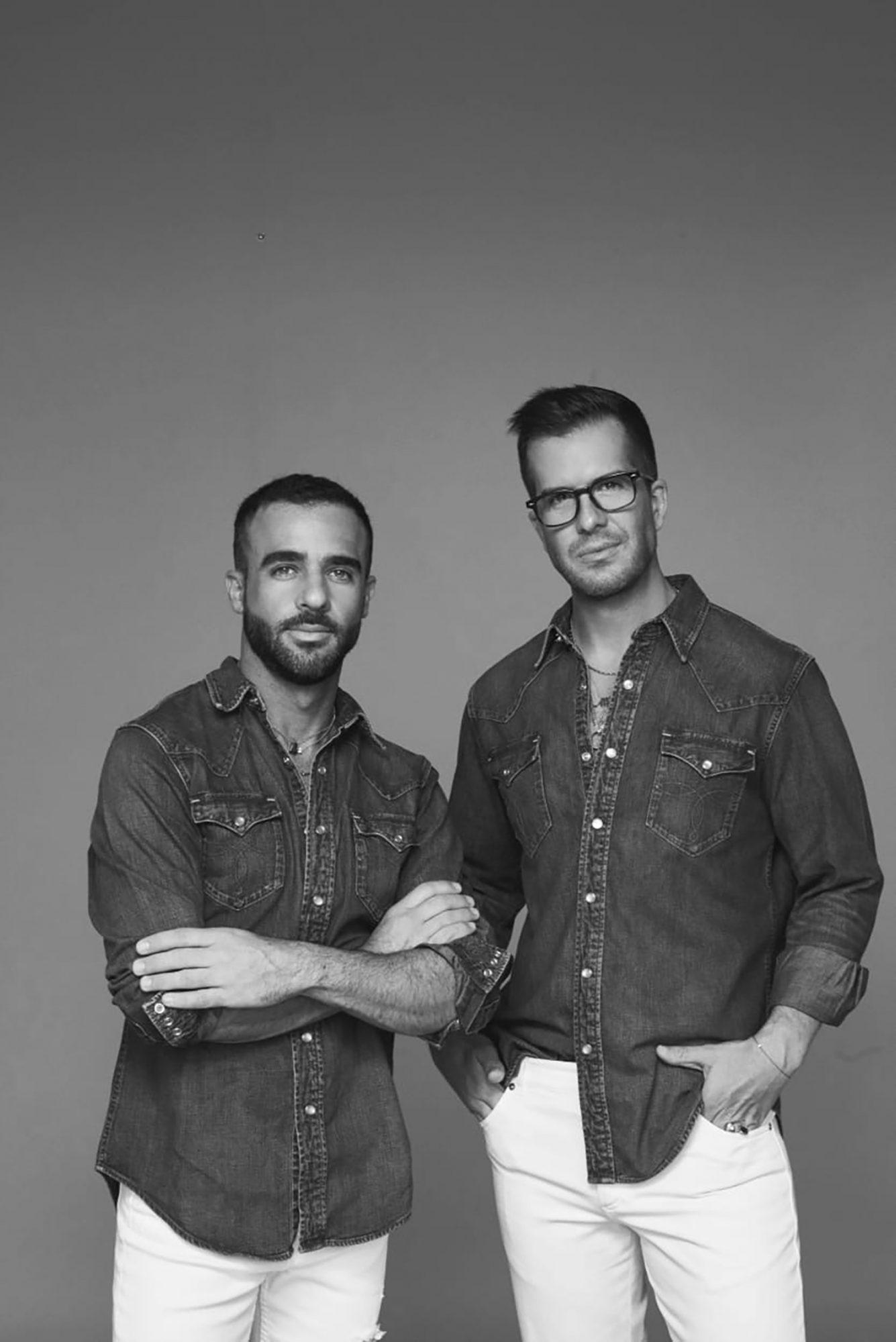 Jaime González y Alfonso Helfon - - Boda Ninel Conde y Larry Ramos