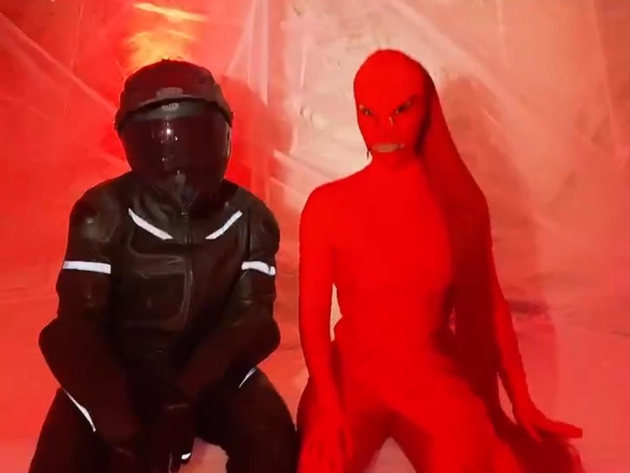 Kim Kardashian Kanye West Halloween
