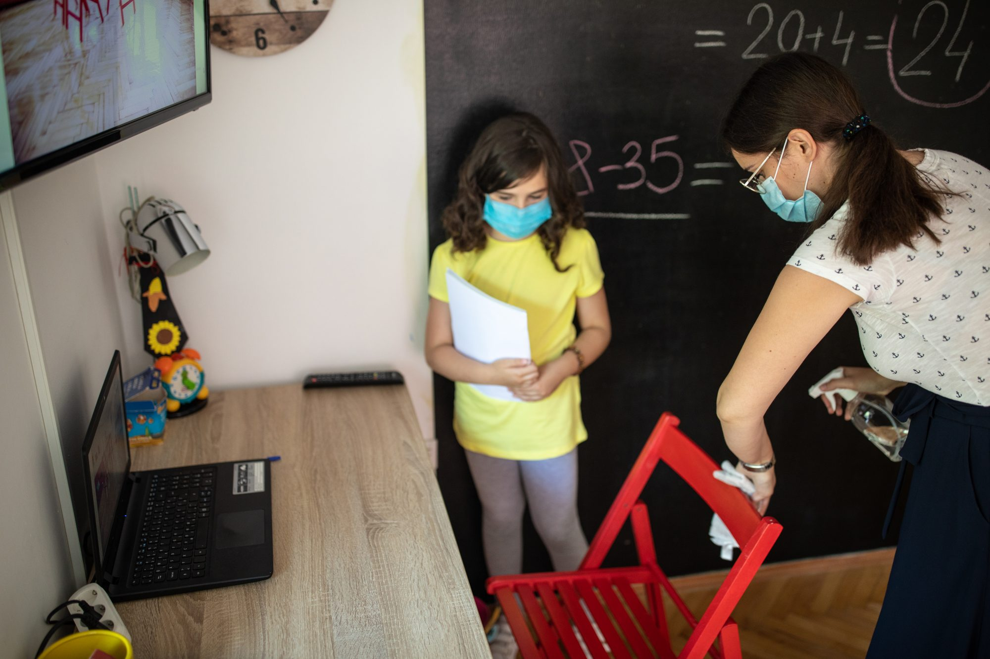 Área de estudios de niños
