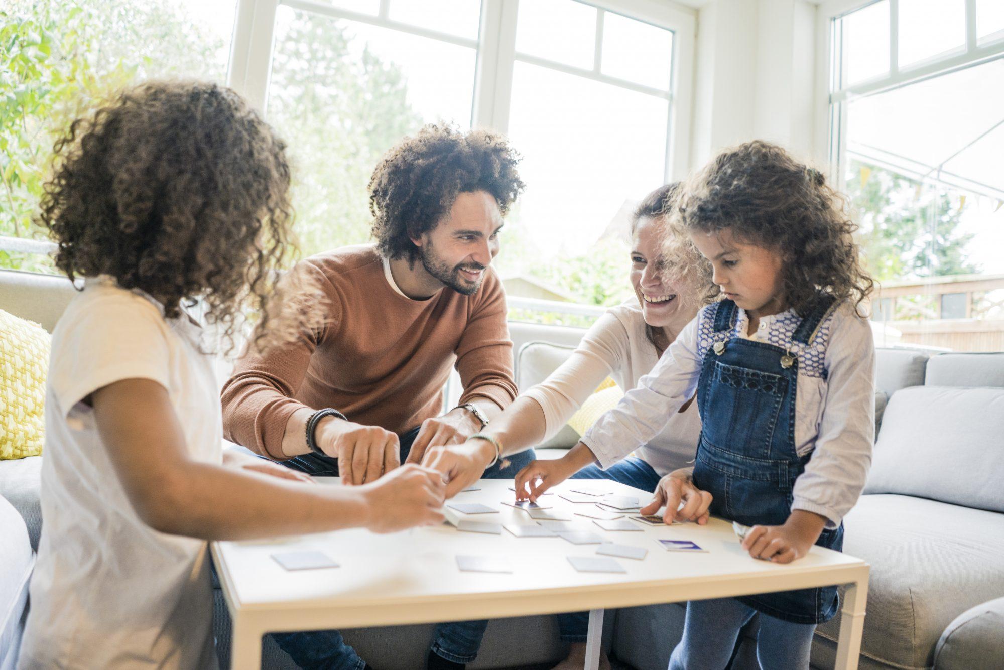Familia y juegos de mesa