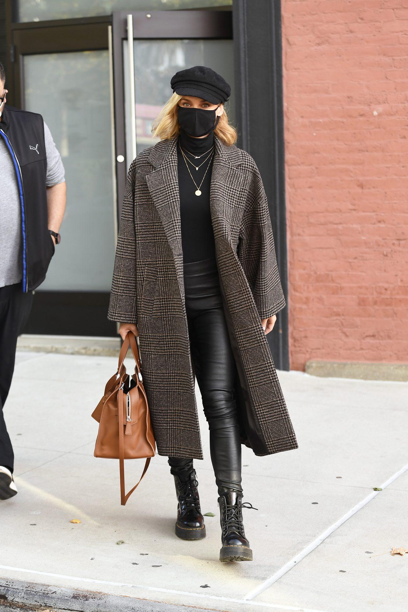 Diane Kruger, look, otono, New York
