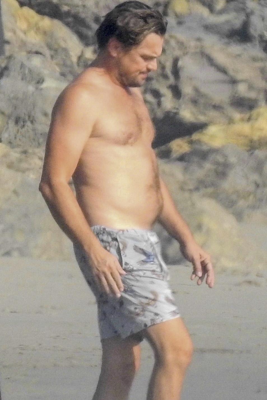 Leonardo DiCaprio playa malibu