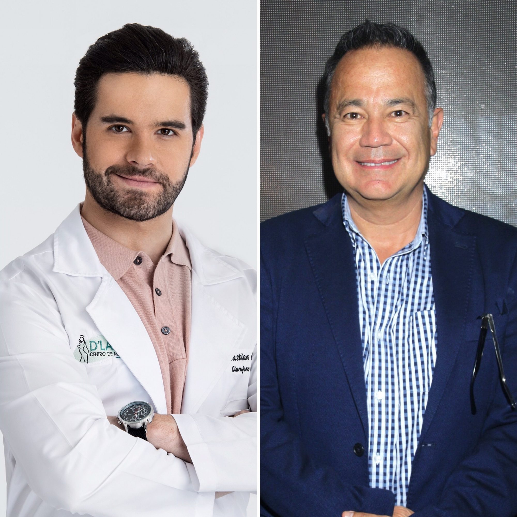 Eleazar Gómez y Nicandro Díaz