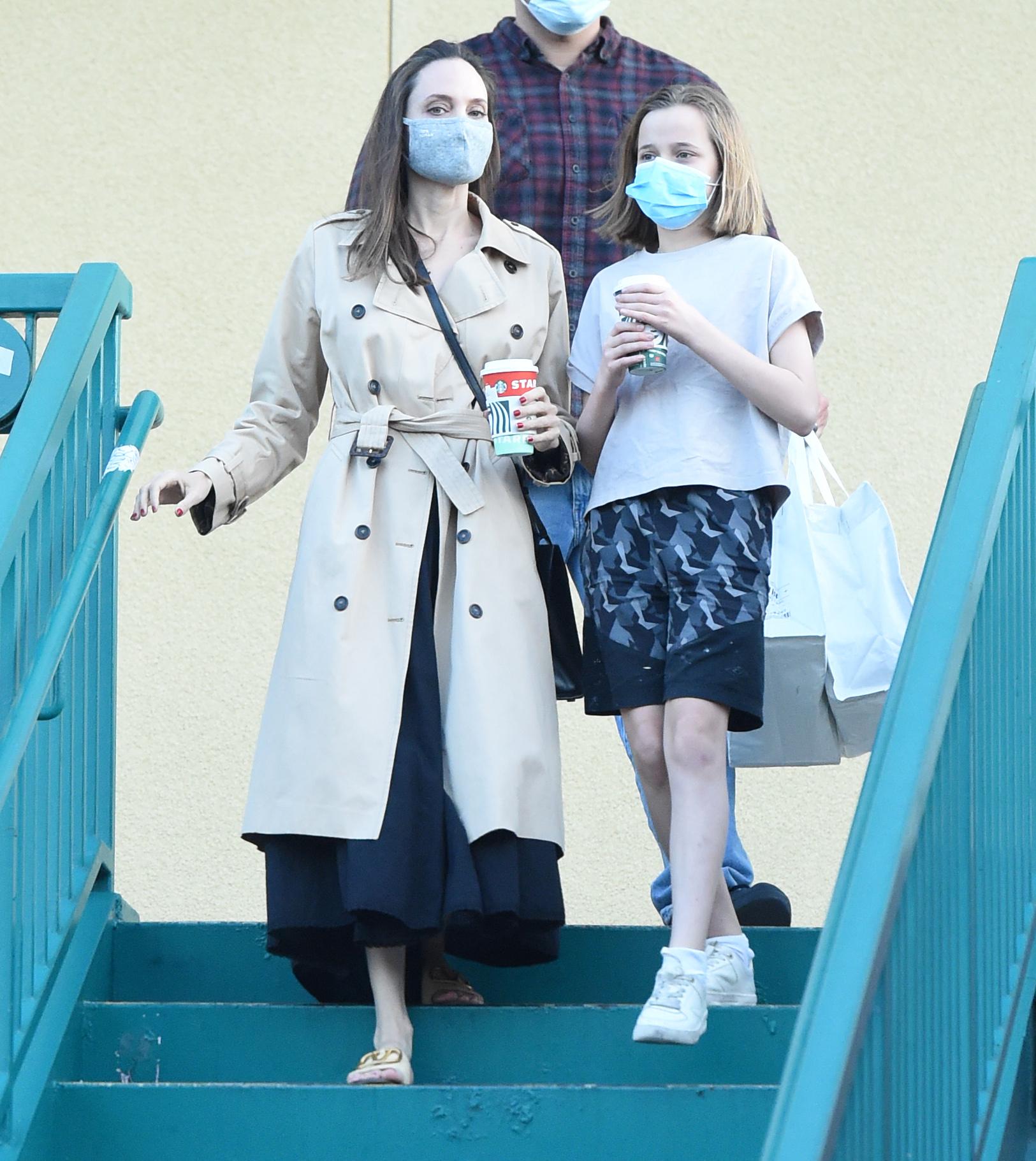 Angelina Jolie, look, hija vivienne