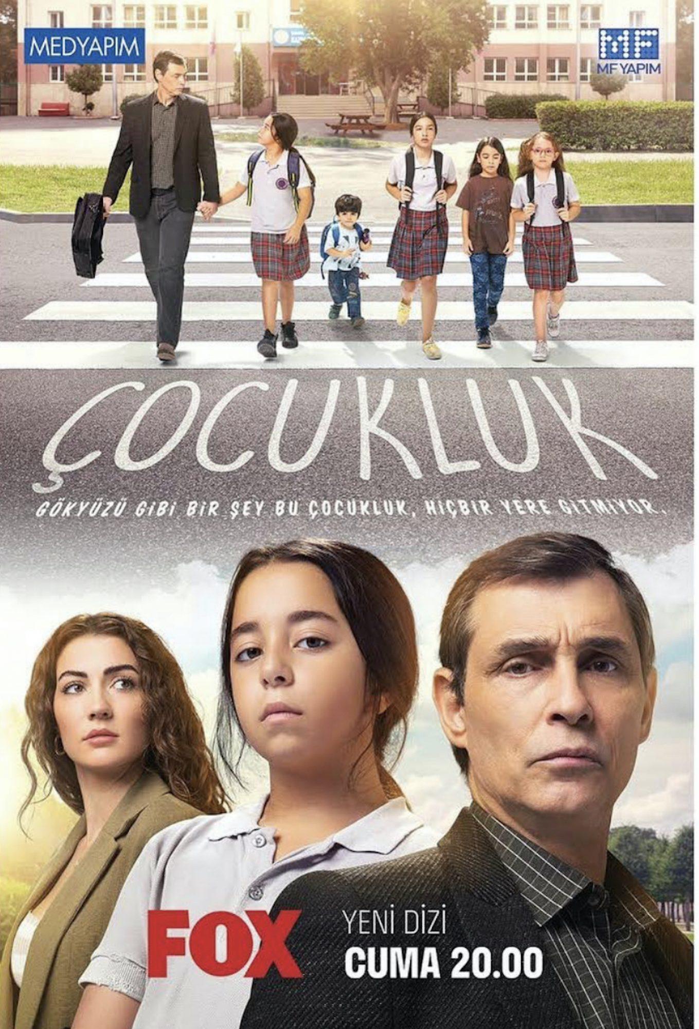Póster promocional nueva telenovela de Beren Gokyildiz