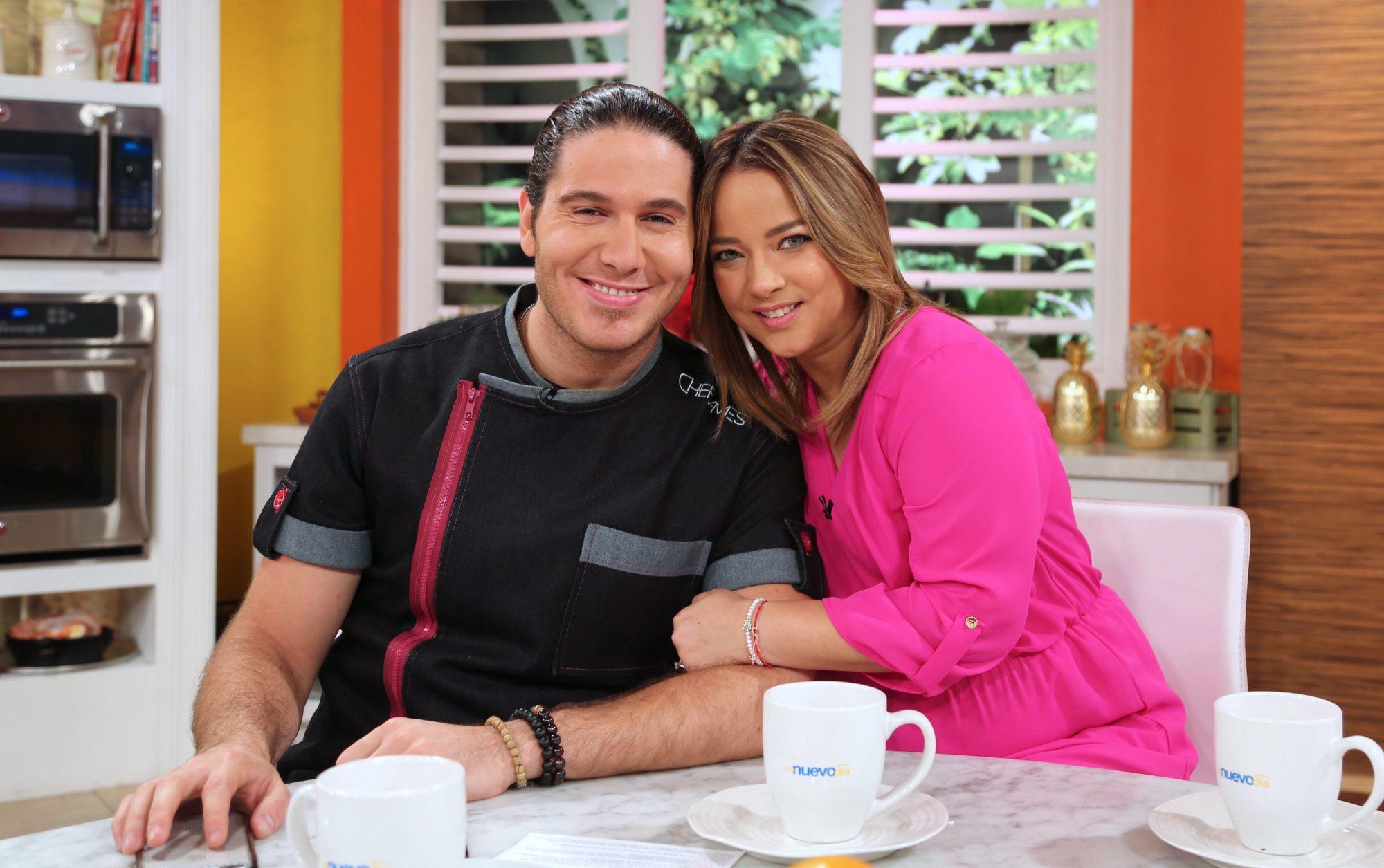 Chef James y Adamari López