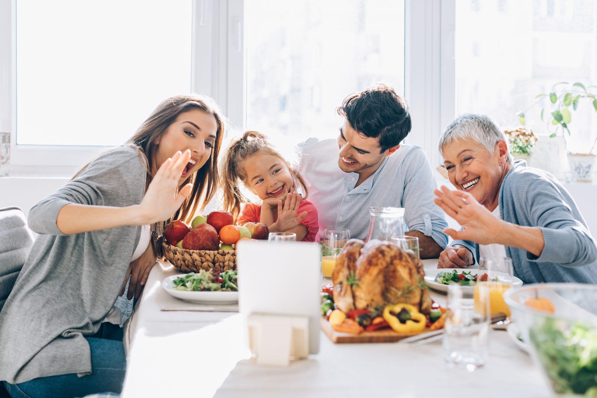 Reunión familiar virtual