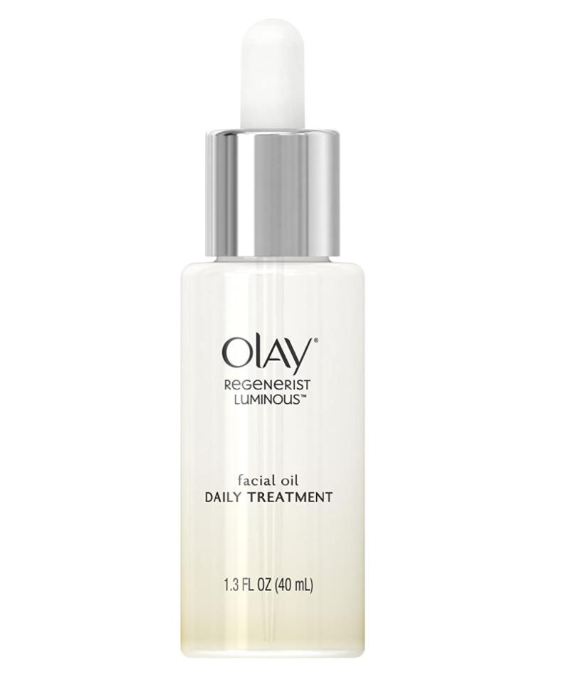 Regenerist Luminous oil, Olay, aceite para el rostro, aceite facial,