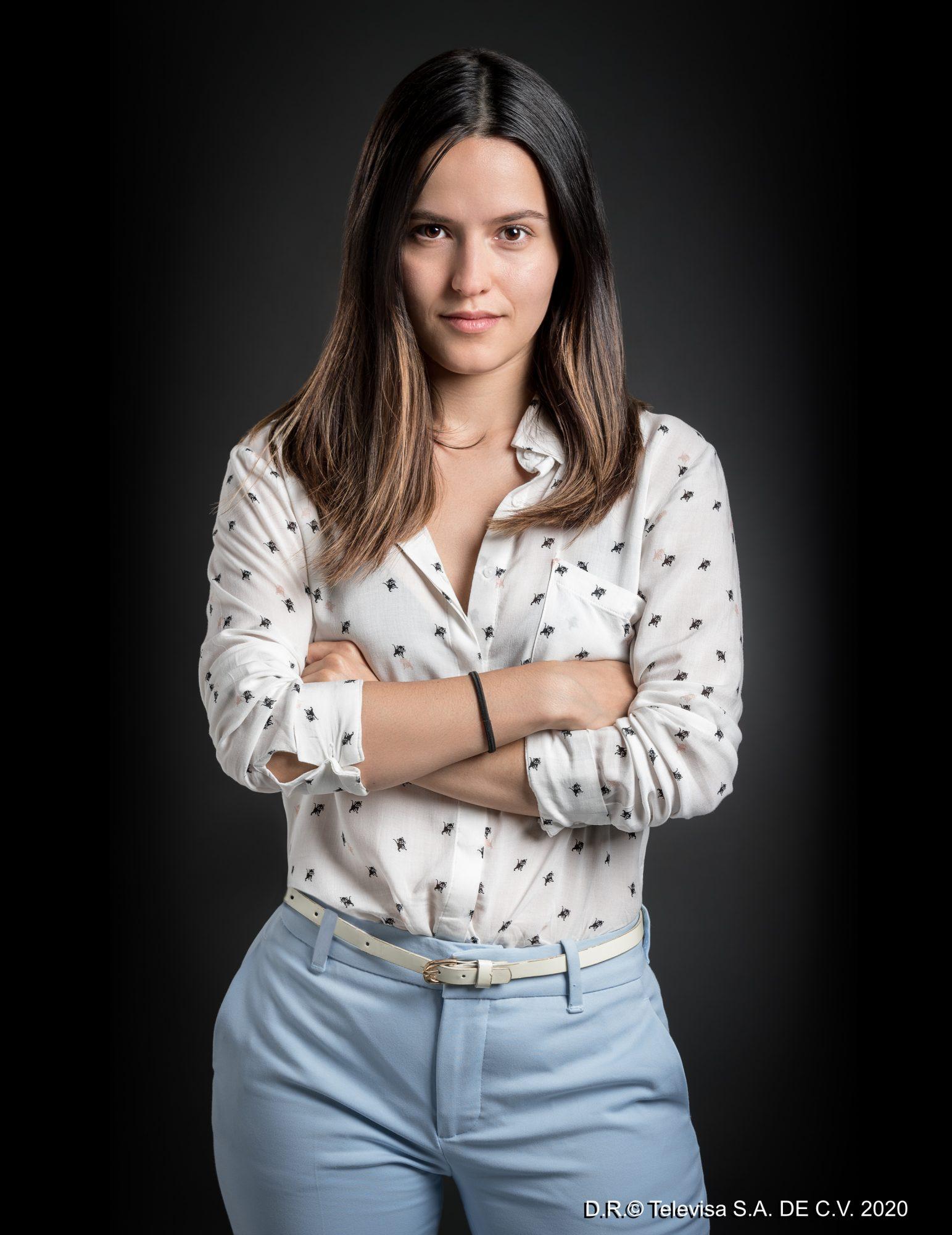 Alicia Jaziz es Clara en Imperio de mentiras