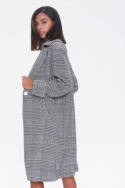 El abrigo largo con estampado plaid que necesitas. Glen Plaid Longline, de Forever 21. $44.99. forever21.com