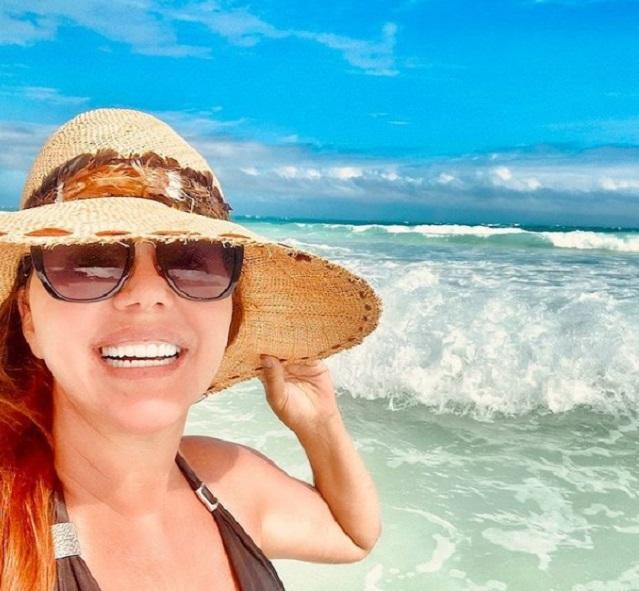 María Celeste Arrarás presume de sus merecidas vacaciones después de un año complicado