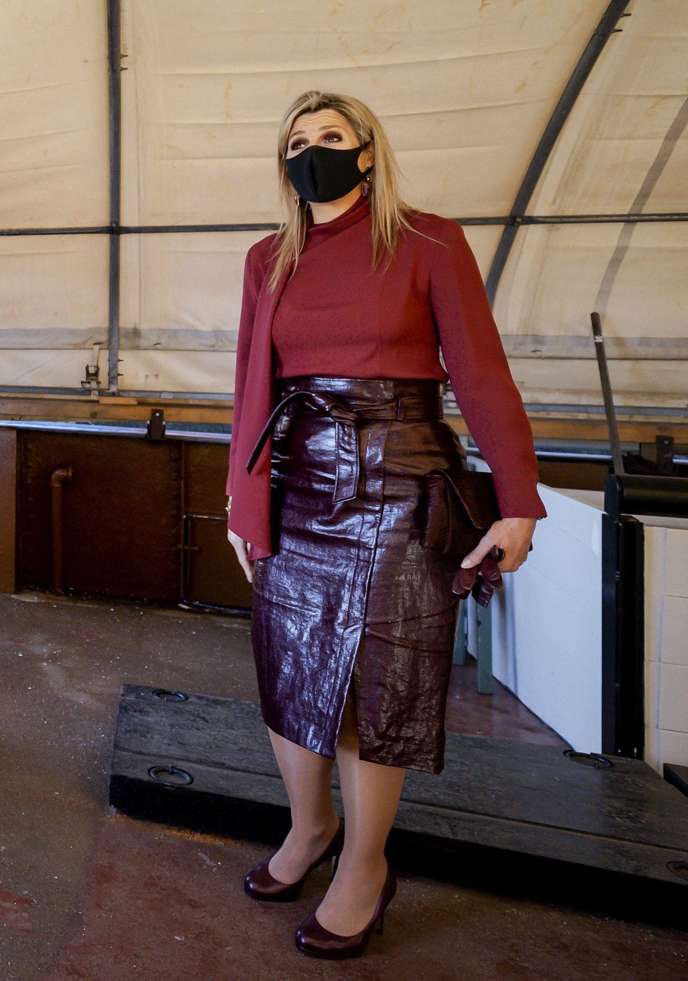 Reina Maxima de Holanda, look, elegante, otono