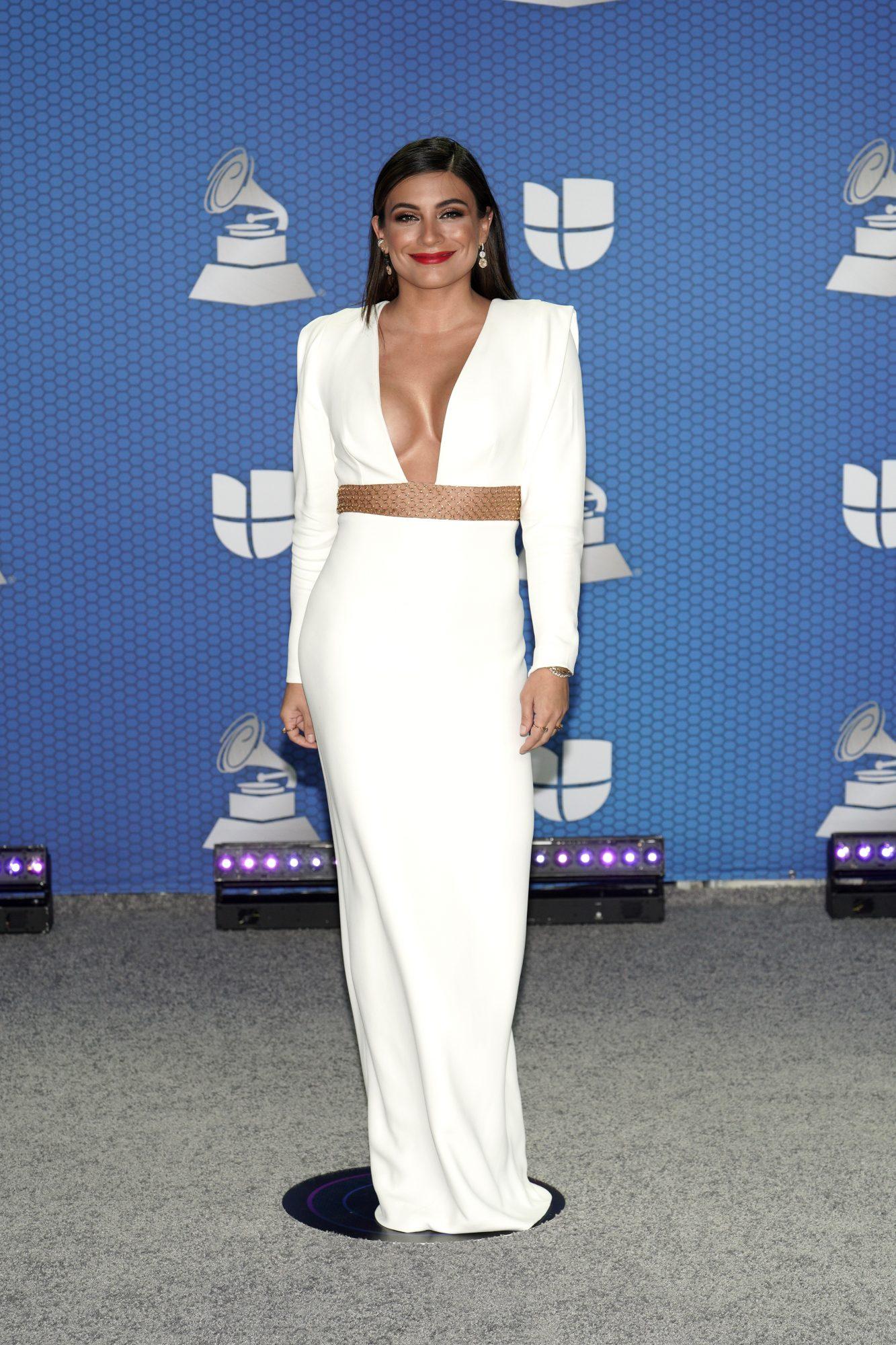Ana Brenda, latin grammy 2020, vestido