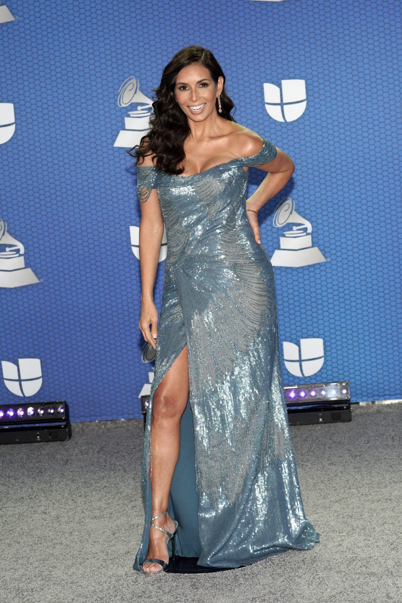 Giselle Blondet, vestido, latin grammy 2020