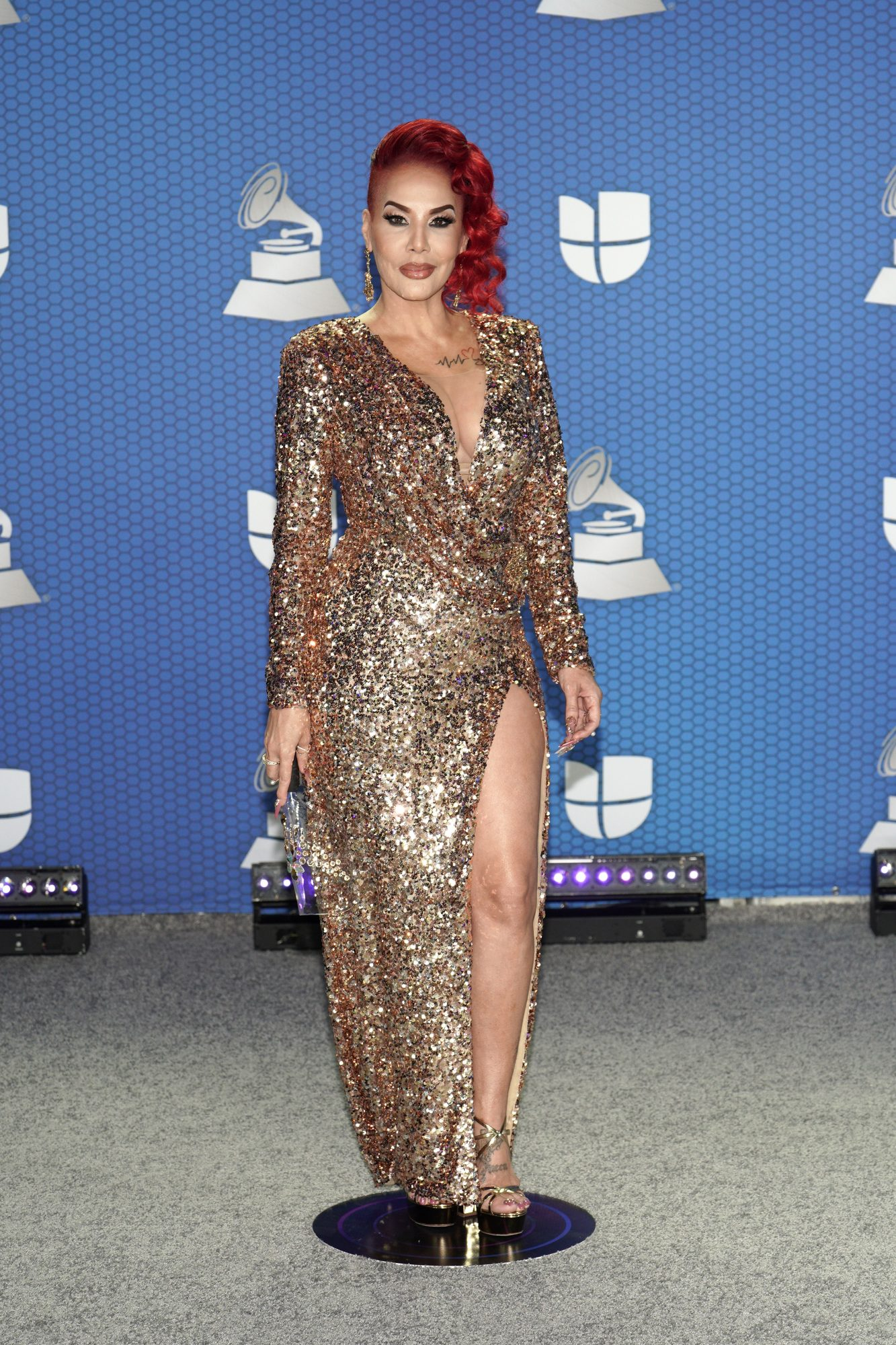 Ivy Queen, Latin Grammy 2020, vestido