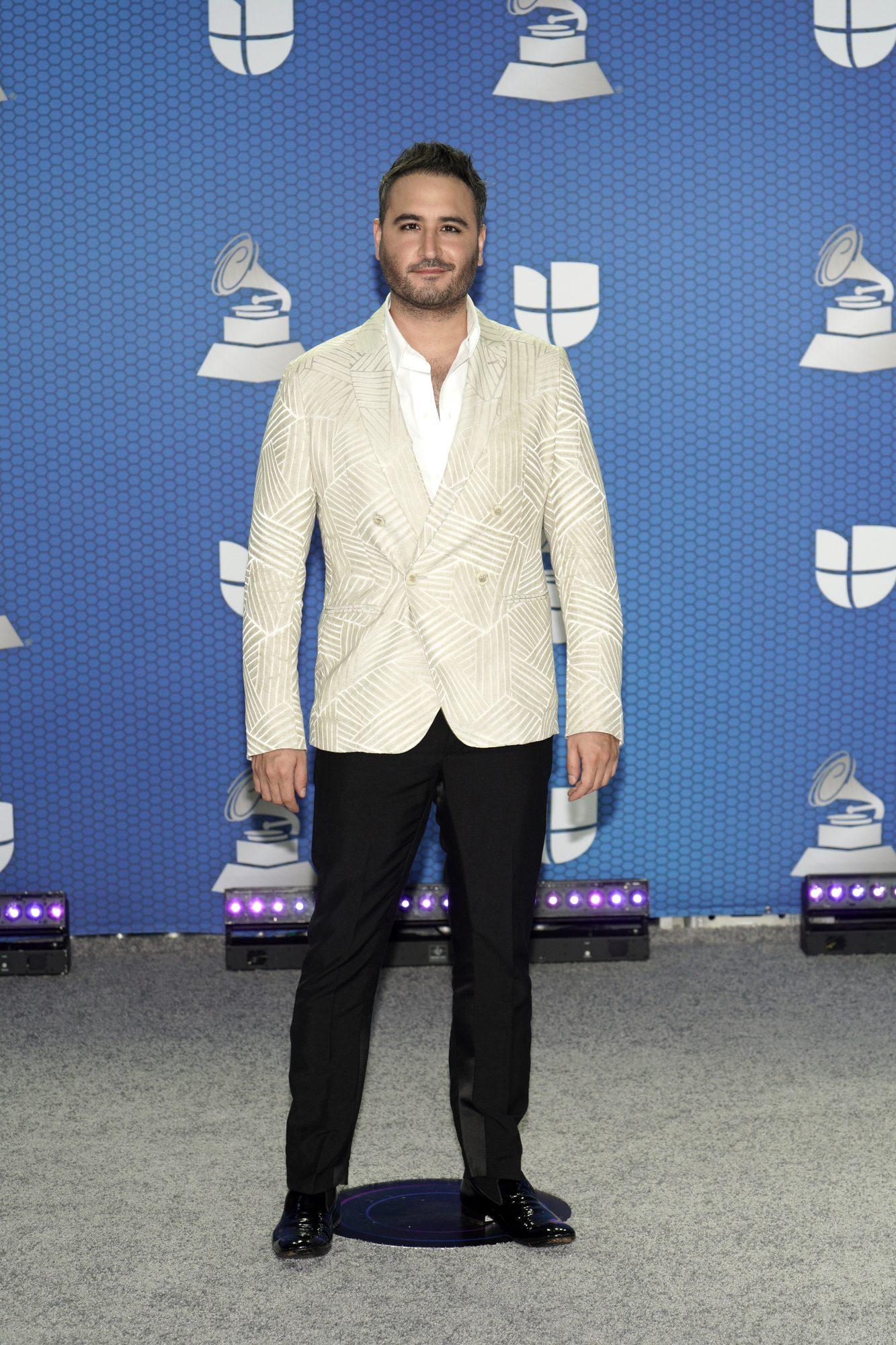 Jesus Navarro, Reik, look, Latin Grammy 2020