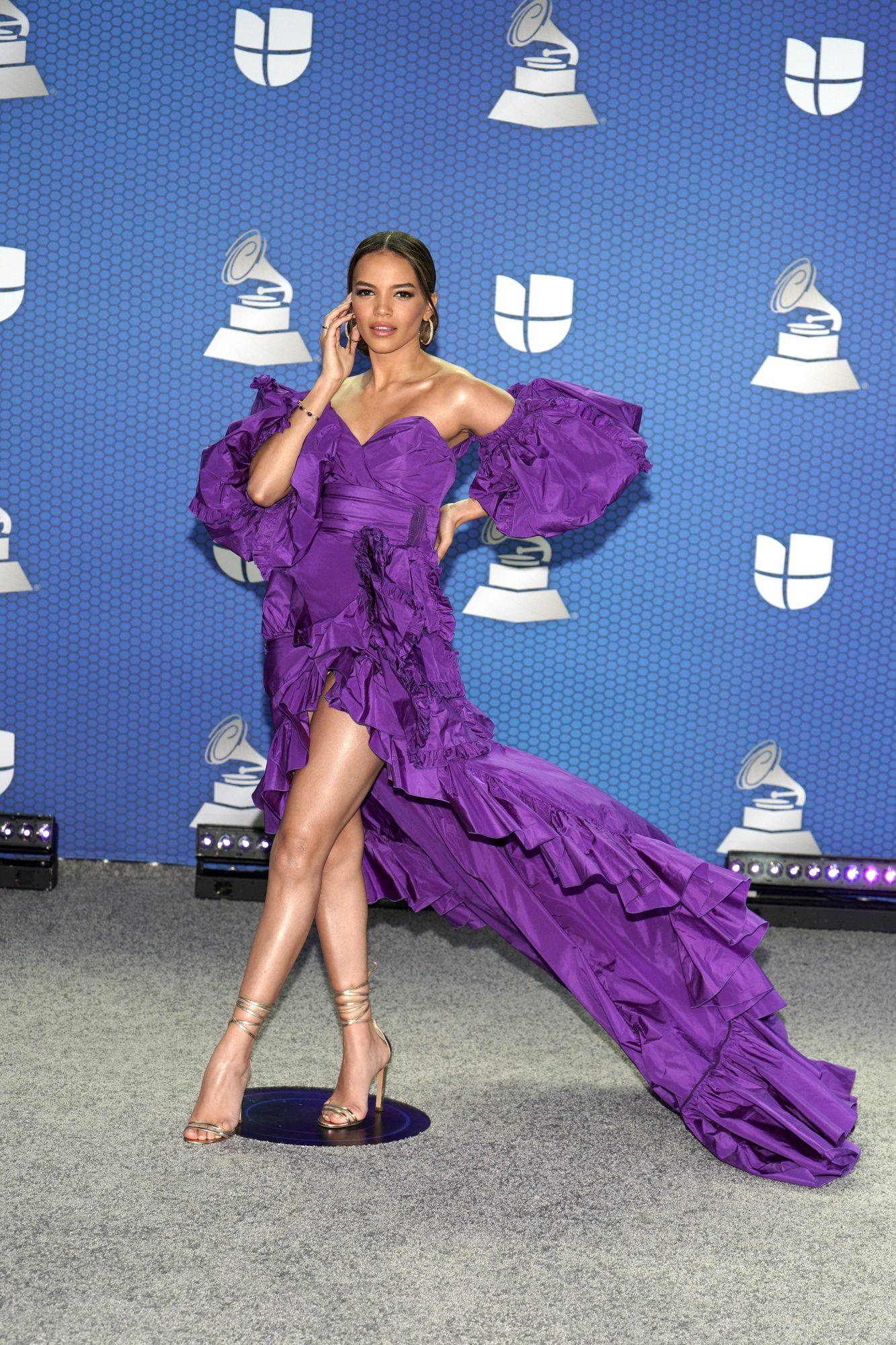 Leslie Grace, Latin Grammy 2020, Vestido