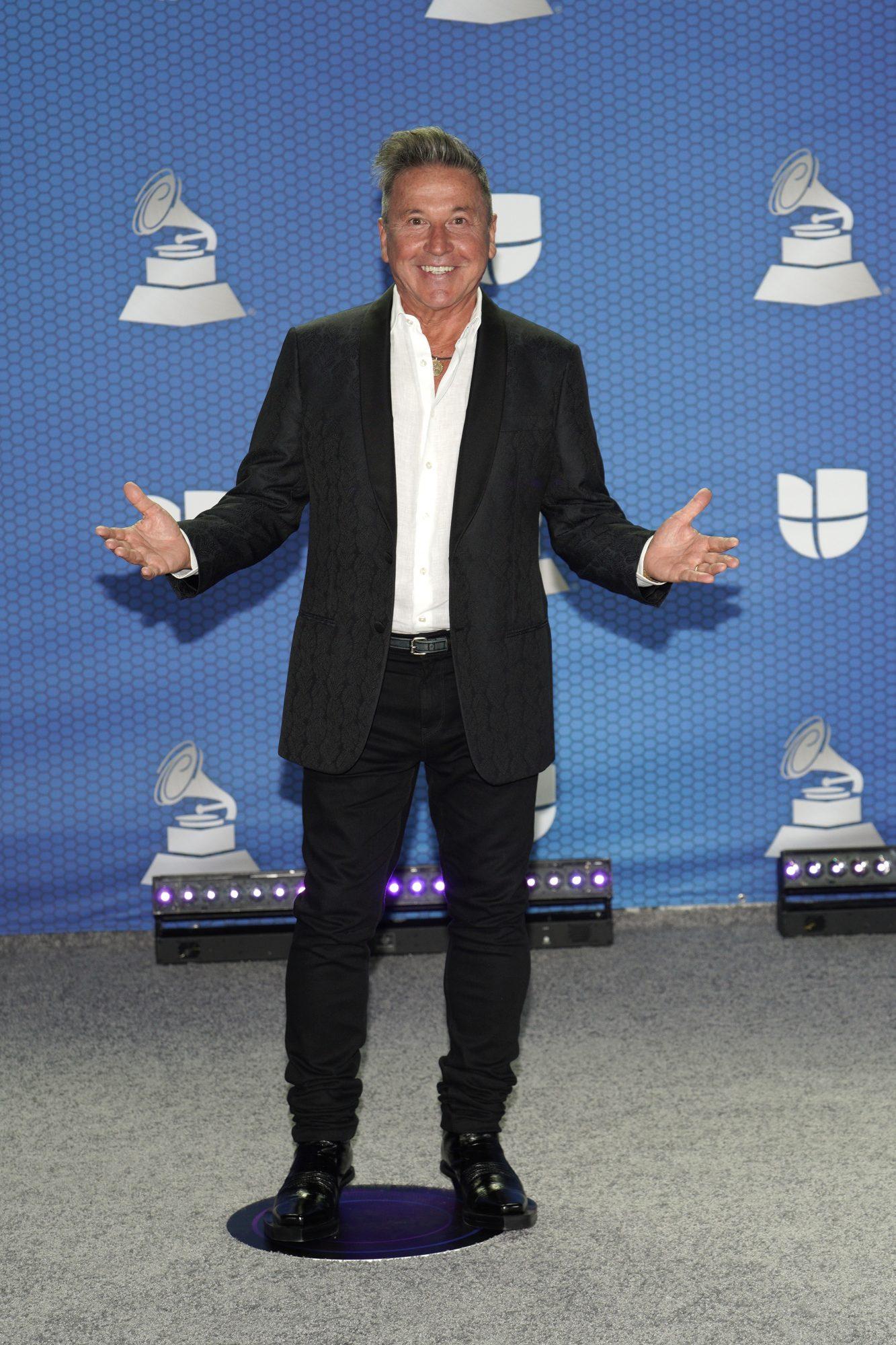 Ricardo Montaner, look, Latin Grammy 2020