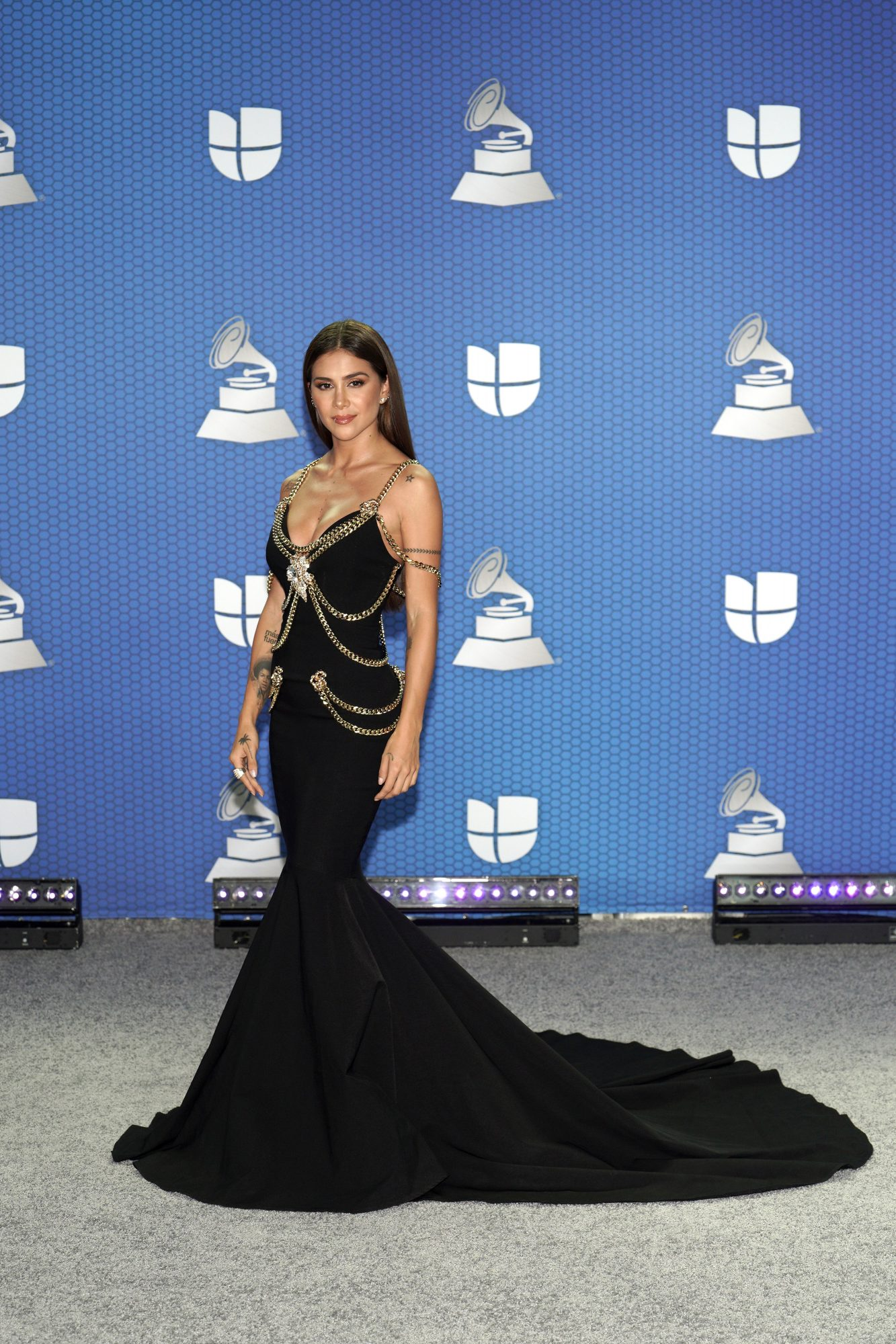Greeicy, latin grammy 2020, vestido