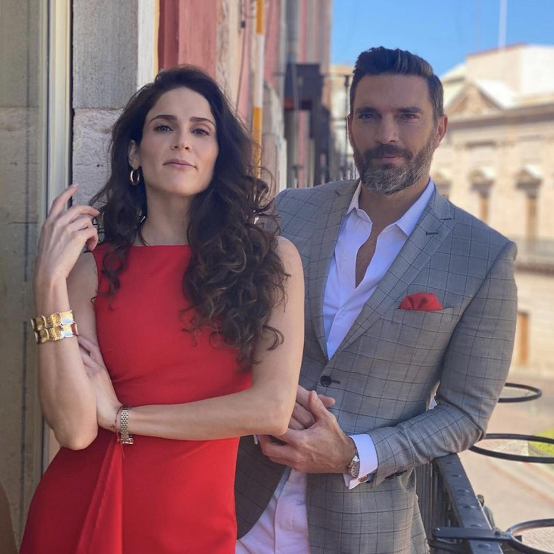 Eva Cedeño y Julián Gil