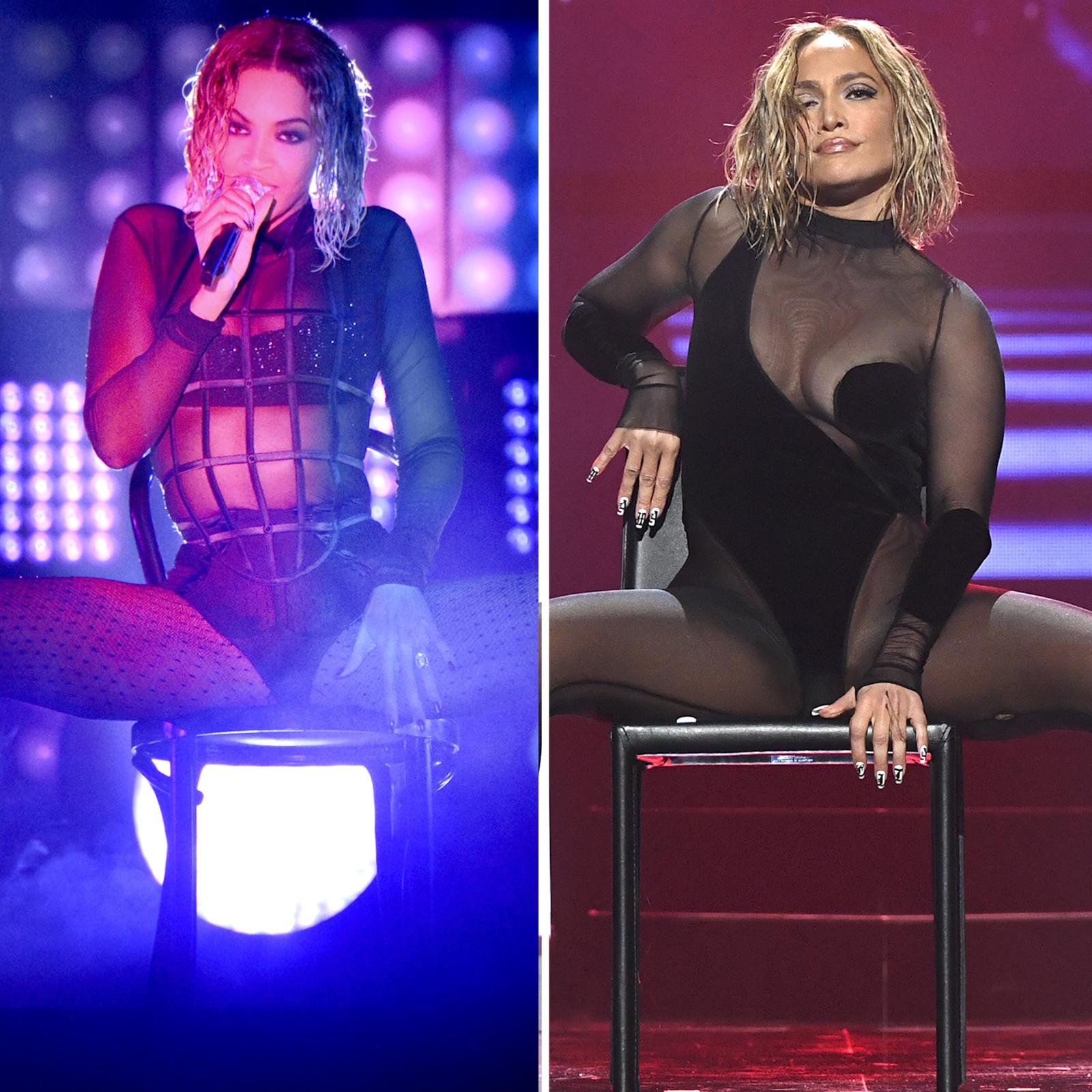 Beyonce y Jennifer Lopez