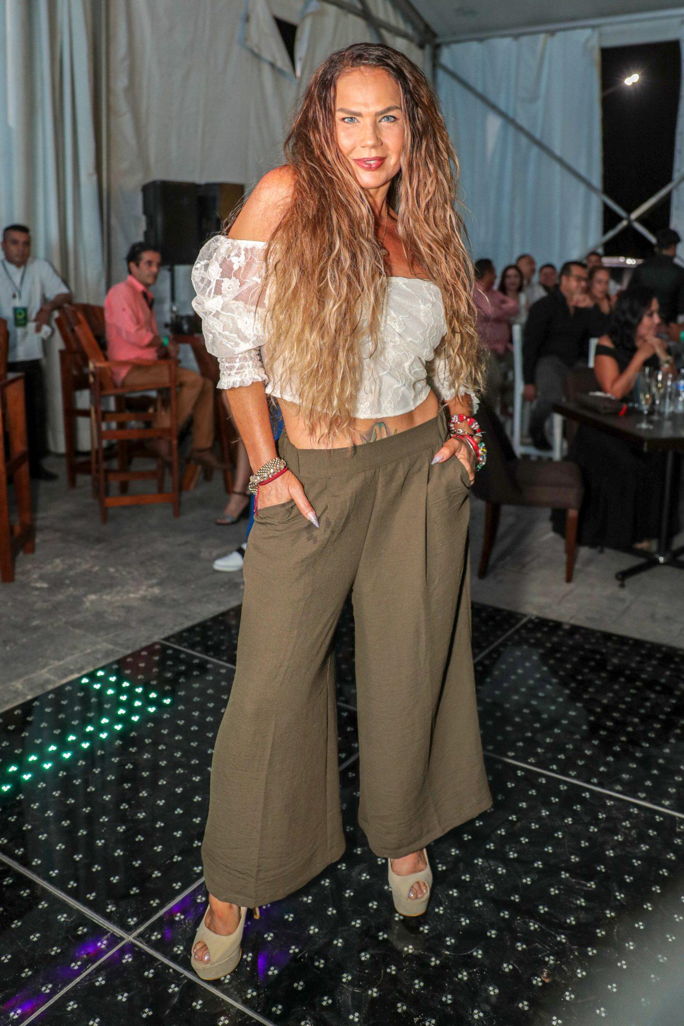 Niruka Marco, look, evento en Cancun