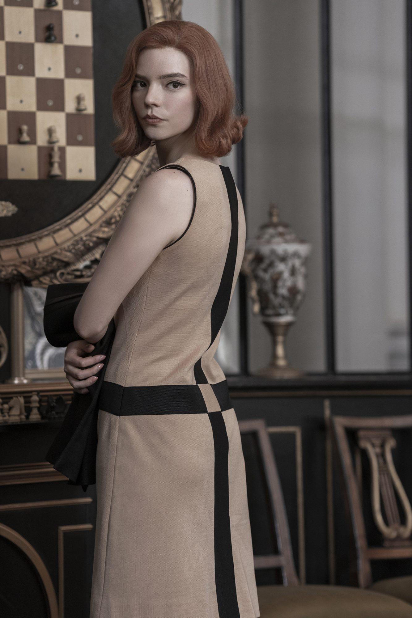 Inspiración moda Gambito dama