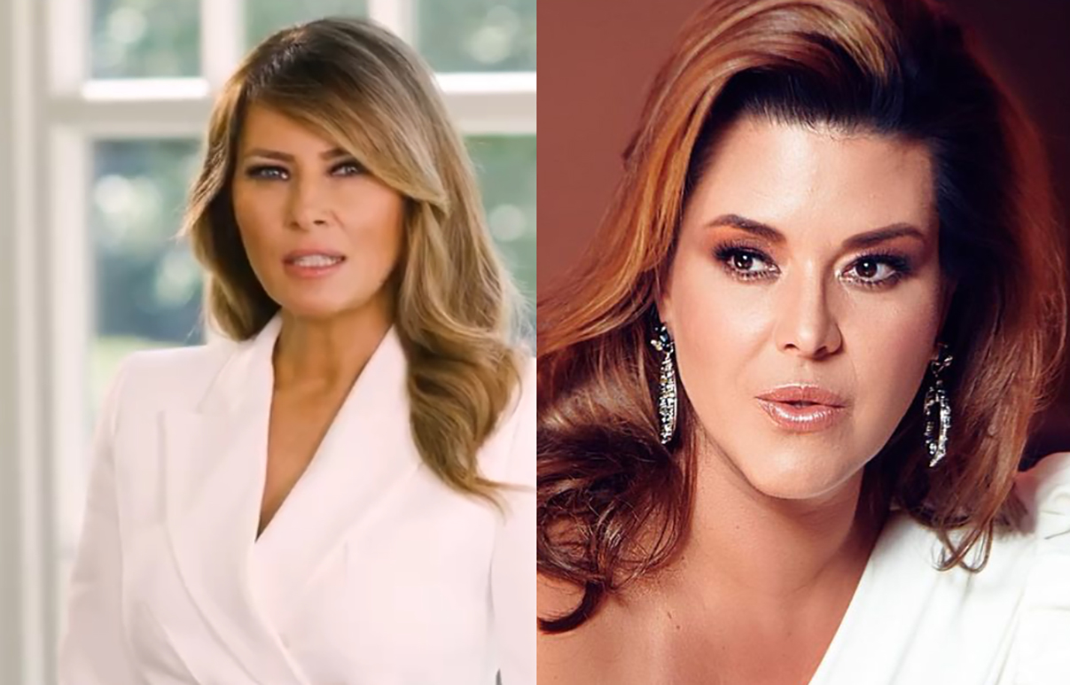 Melania Trump Alicia Machado
