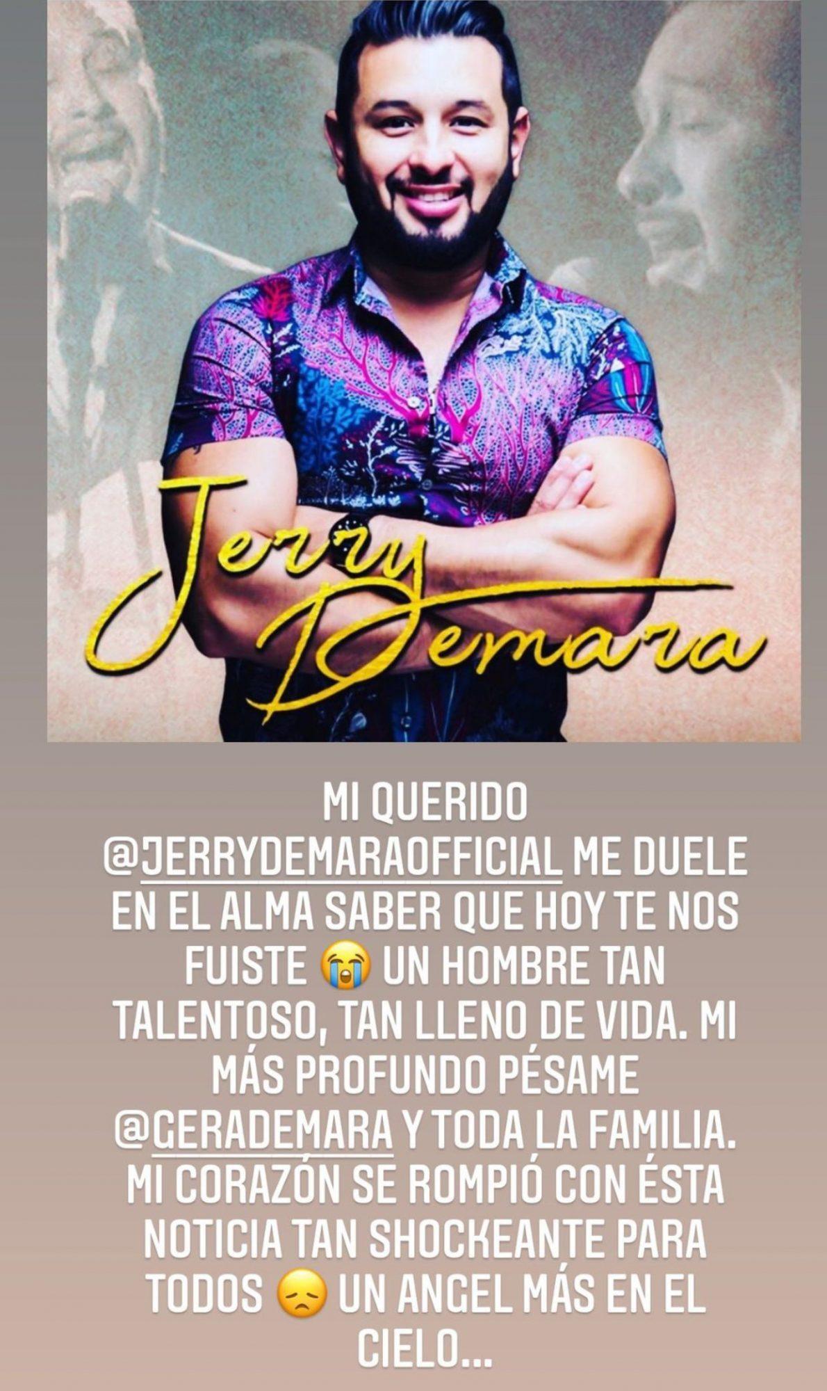 Jerry Demara Sandra Echeverria
