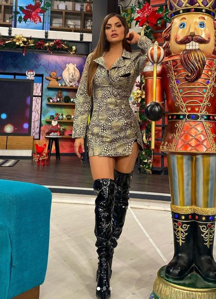 Marisol Gonzalez, look, sexy, programa Hoy