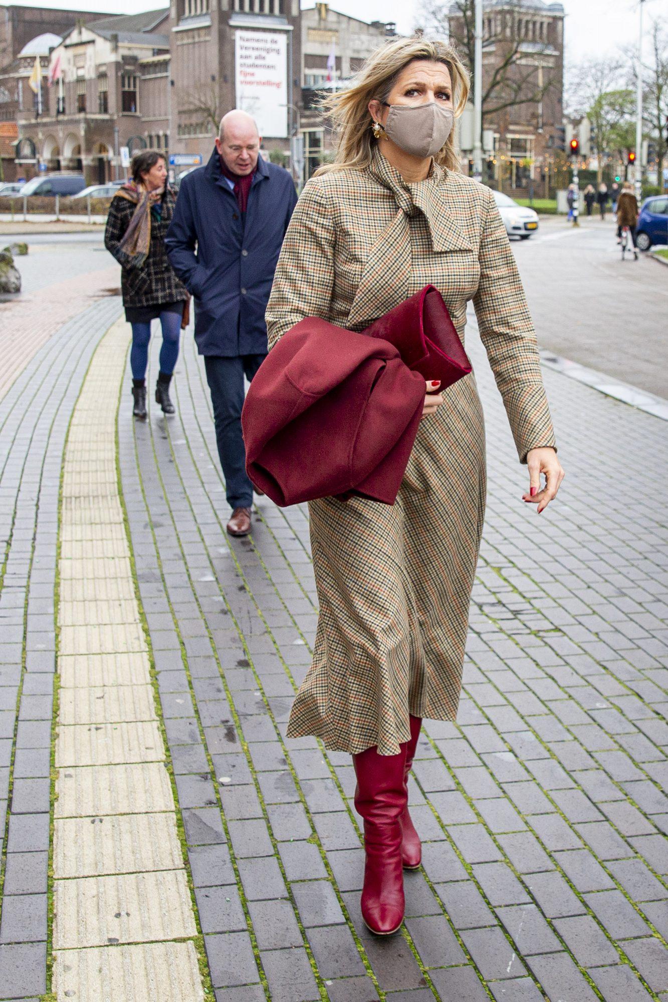 Reina Maxima, look, elegante, otono