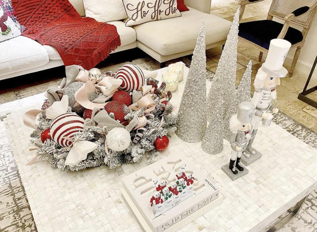 Decoración de Navidad de Jacky Bracamontes