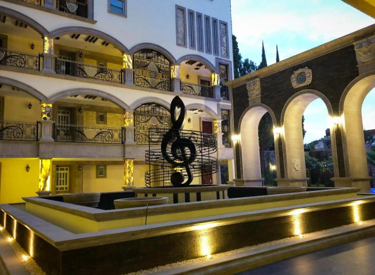 Hotel de Marco Antonio Solís