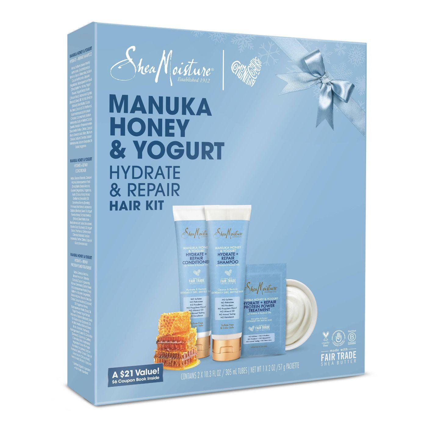SheaMoisture Manuka Honey & Yogurt Hydrate & Repair Hair Gift Set