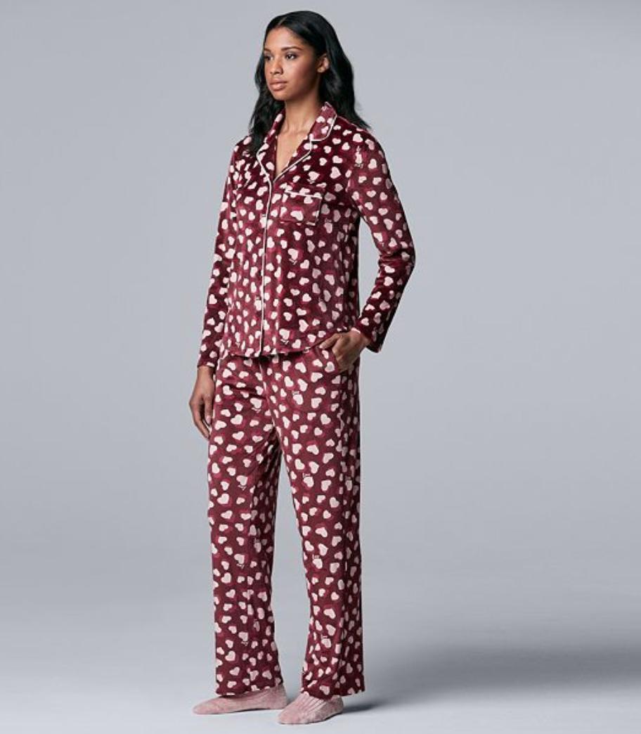 pijamas, sets de pijamas, pijamas para Navidad, pijamas diferentes para Navidad