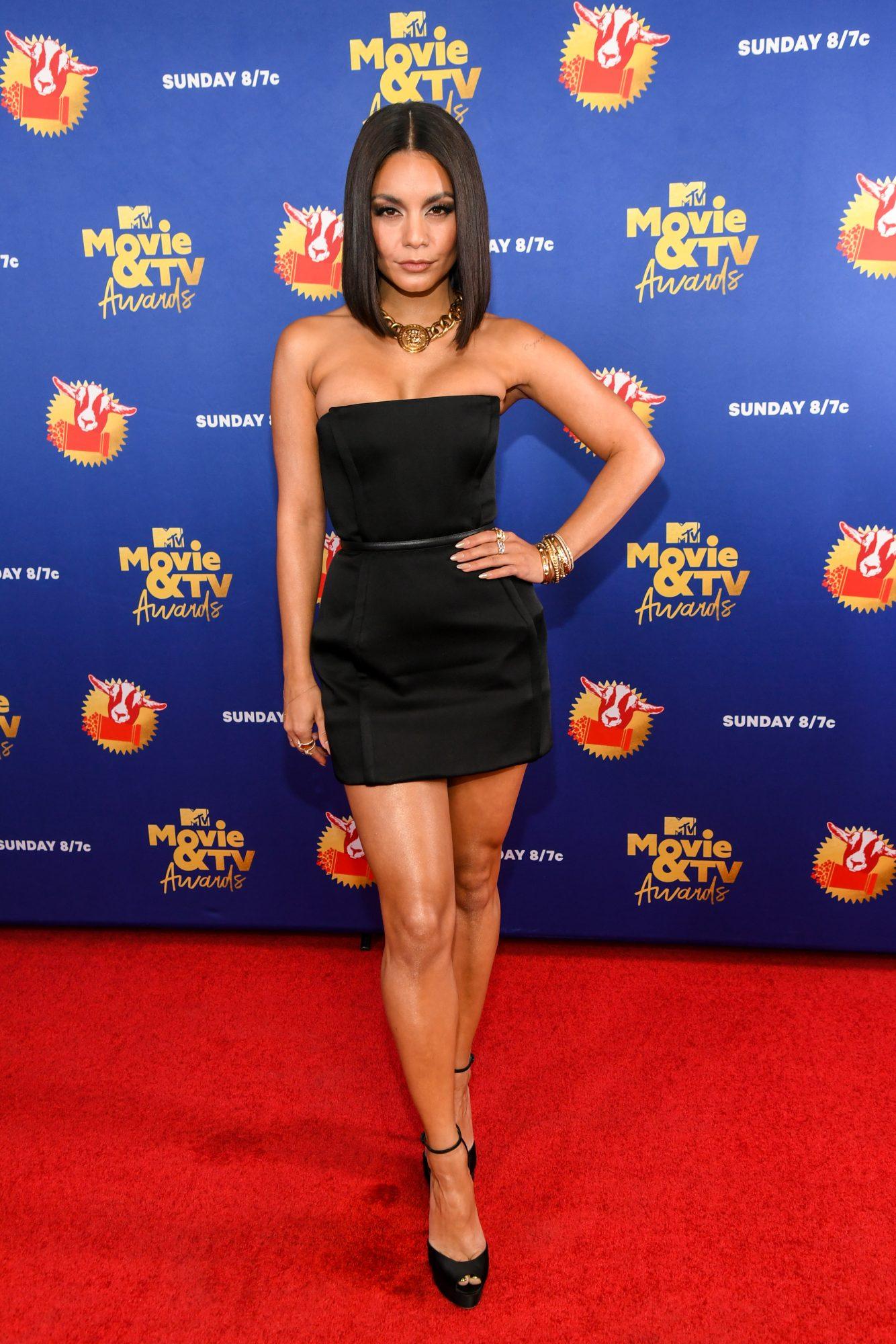 Vanessa Hudgens, look, MTV movie awards