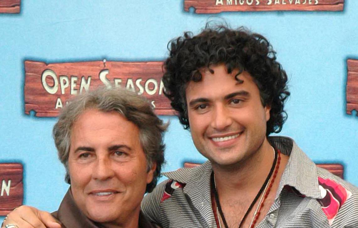 Jaime Camil y papa
