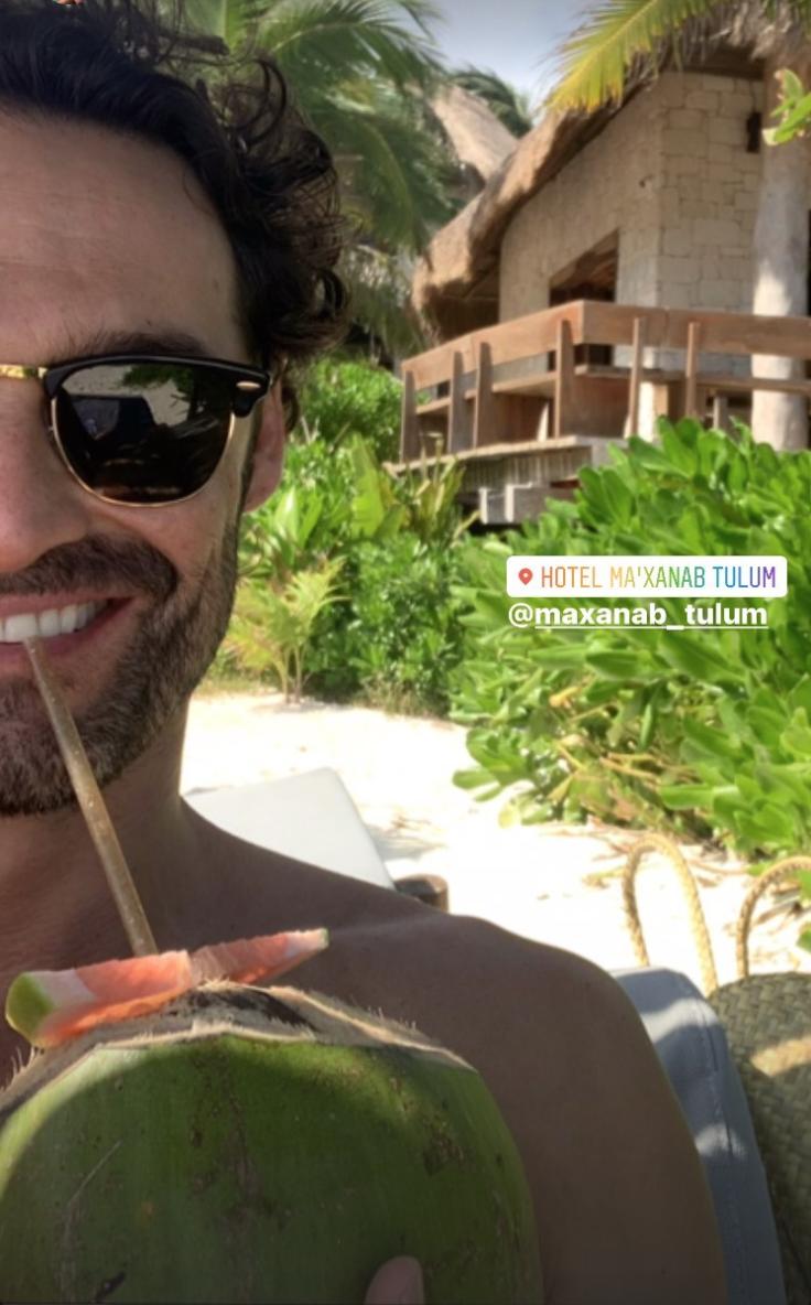 Las espectaculares vacaciones de Iván Sánchez en tulum
