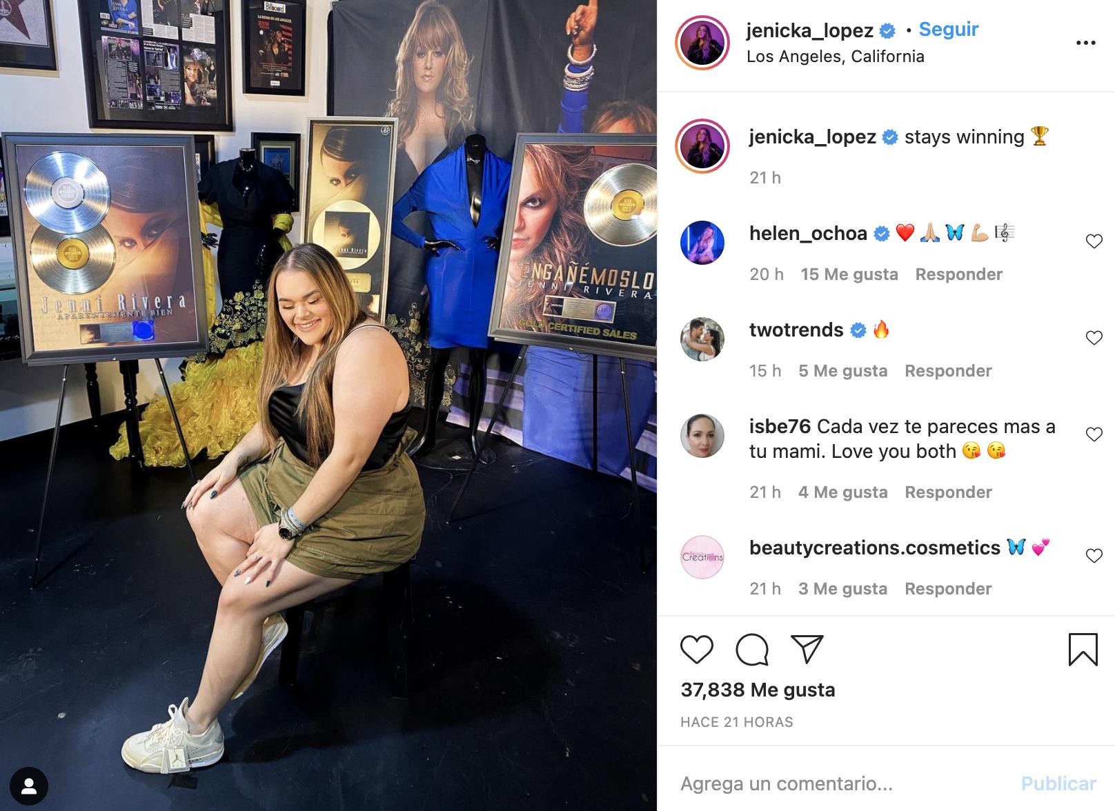 Jenicka López