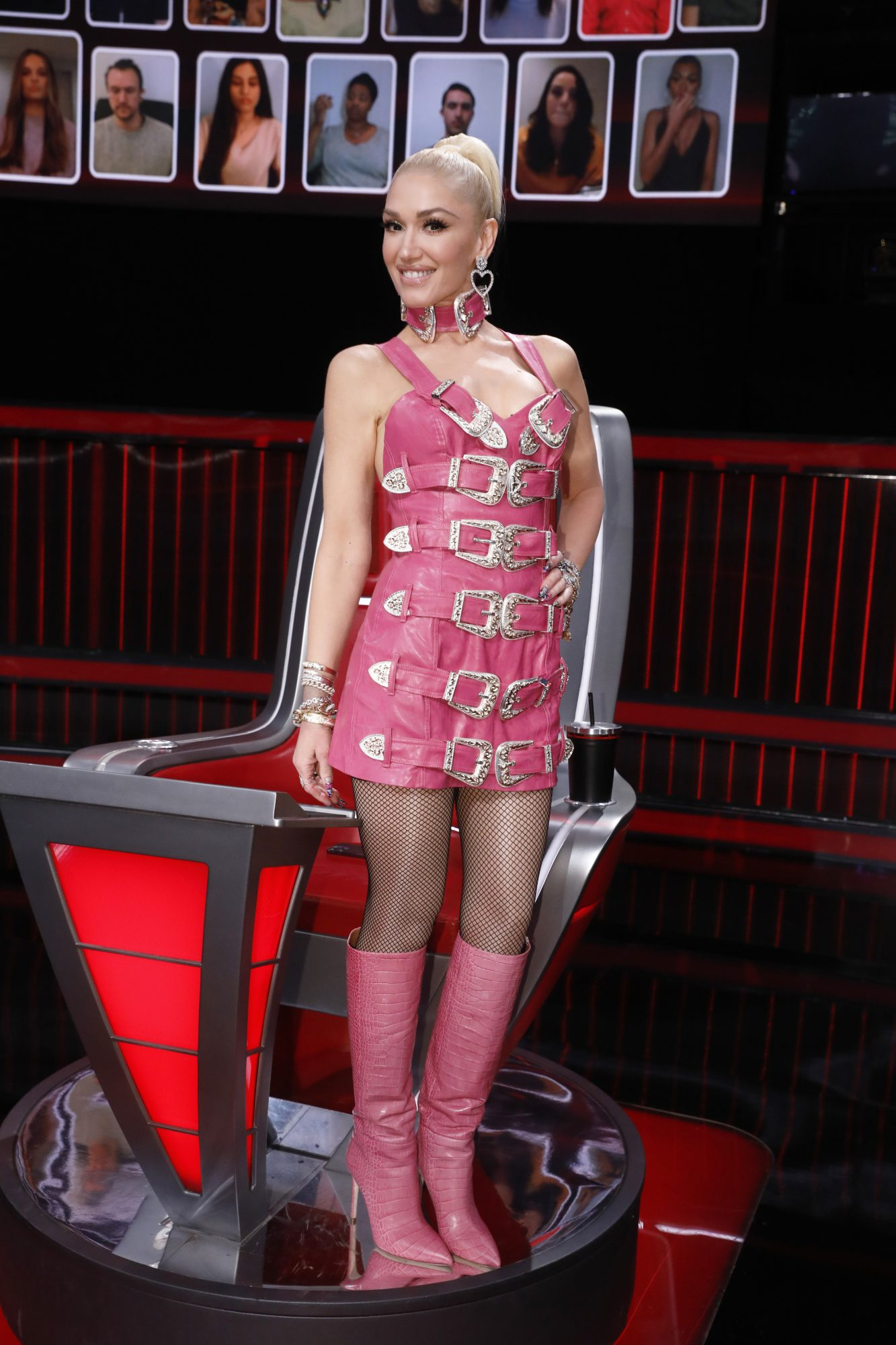 Gwen Stefani, look, The Voice, look of the day