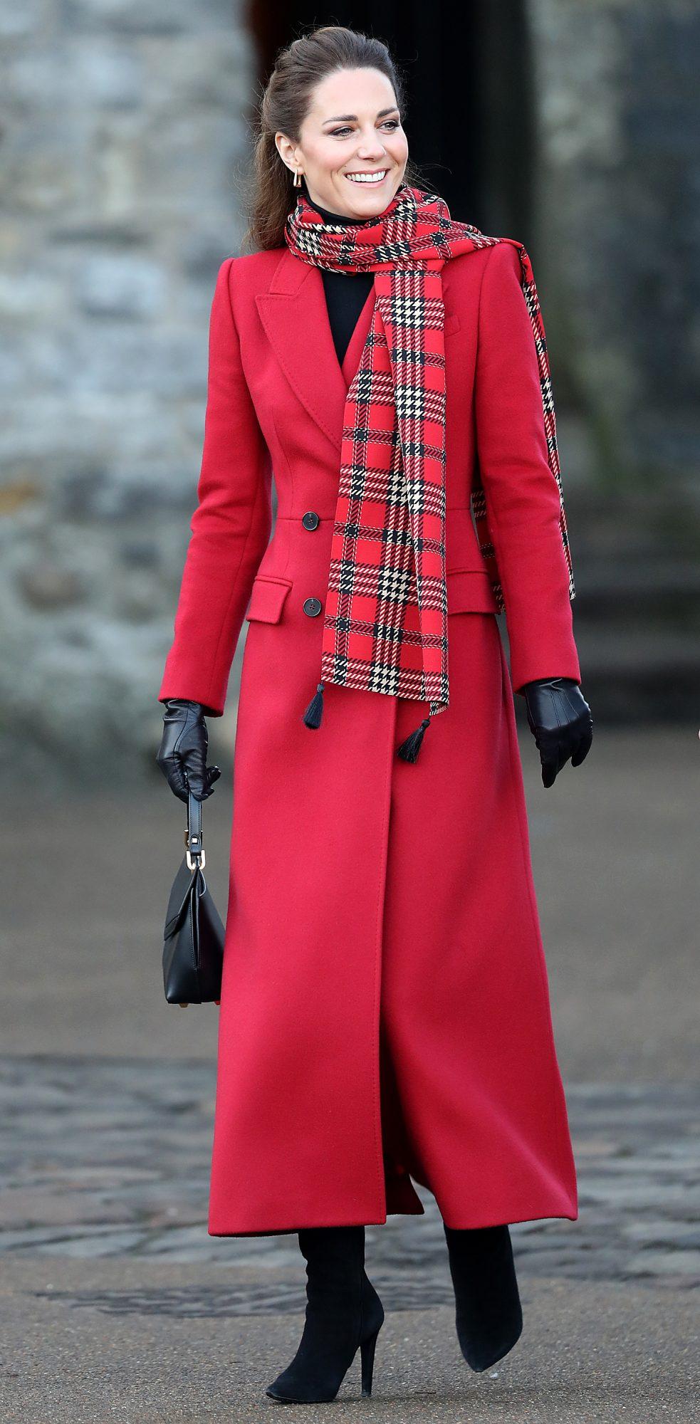 Kate Middleton, look, look navideno