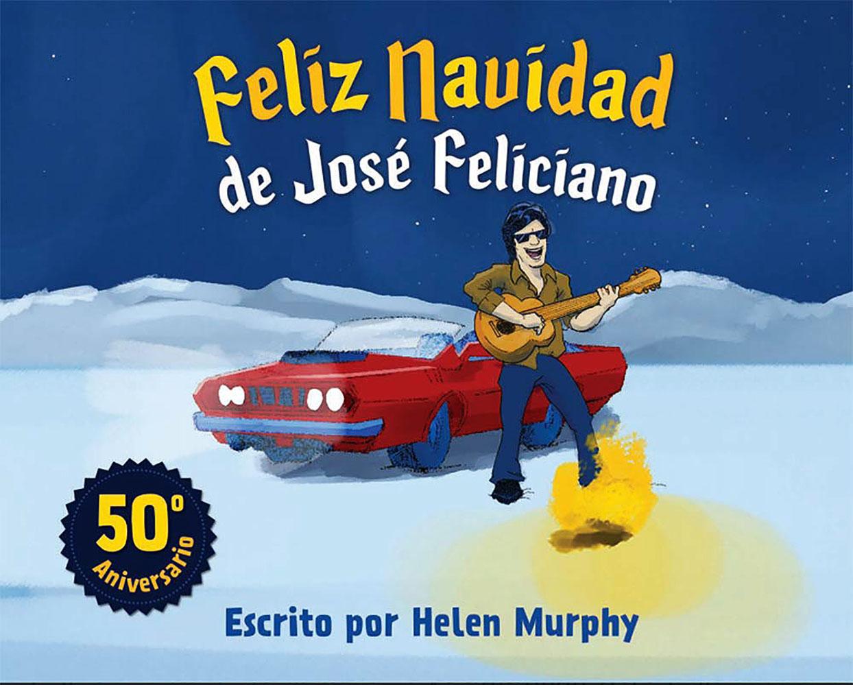 José Feliciano libro Feliz Navidad 2020
