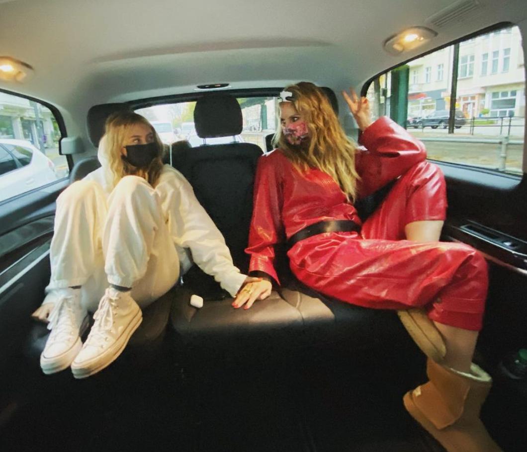 Heidi Klum y su hija Leni lucen idénticas en la portada de Vogue Alemania