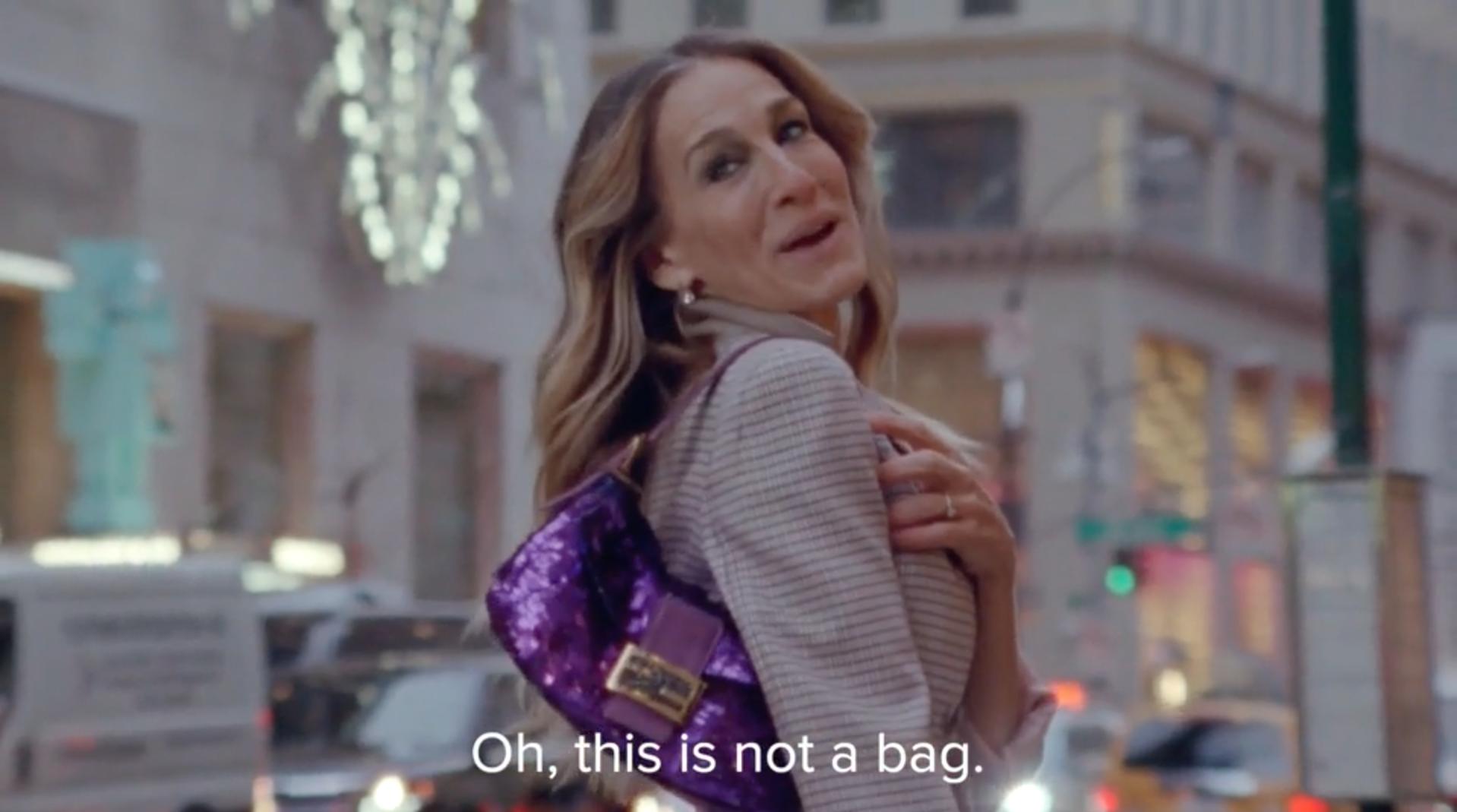 Sarah Jessica Parker anuncio de Fendi