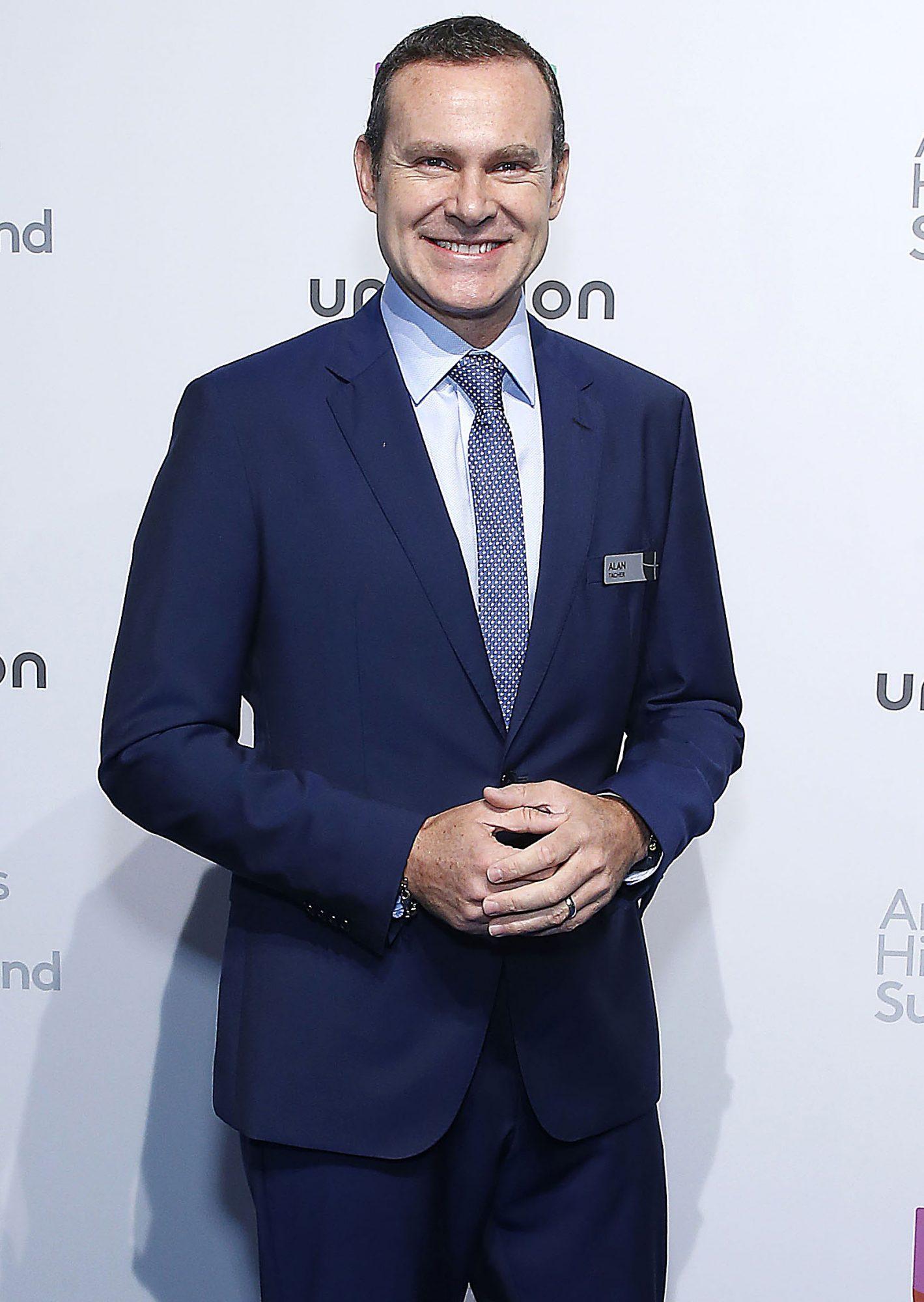 Alan Tacher en los 2019 Univision Upfront