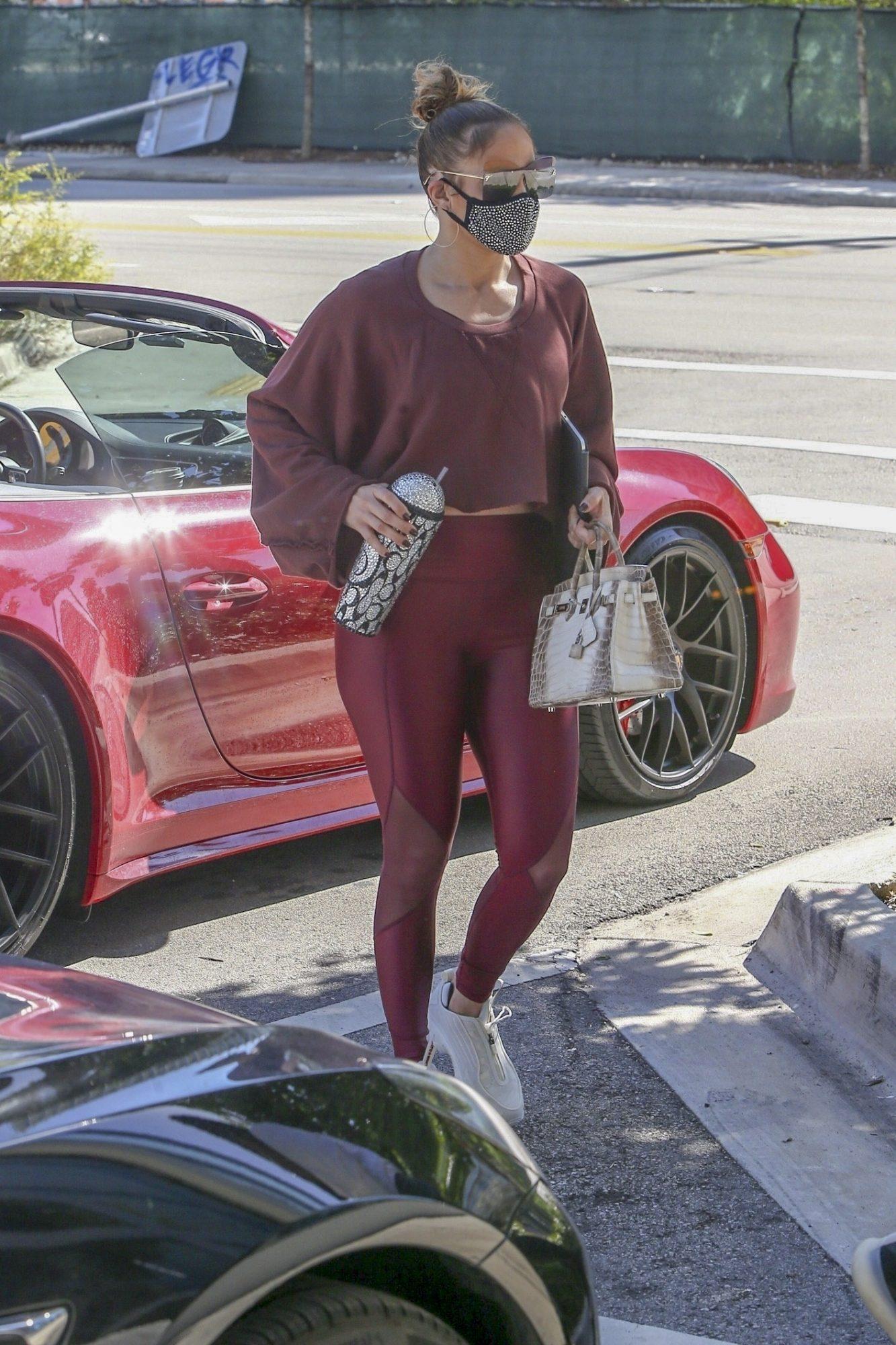 Jennifer Lopez, Jlo, look de gimnasio, miami