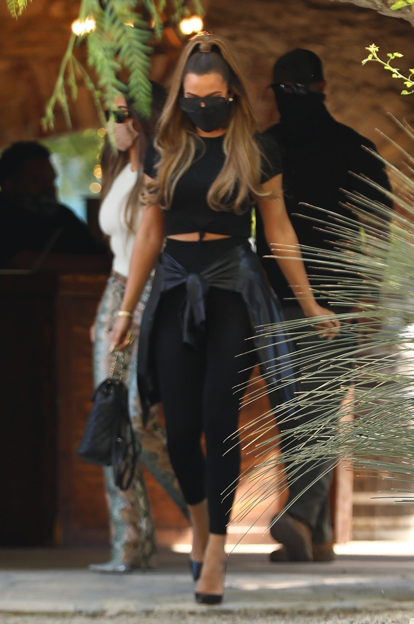 Khloe Kardashian, look