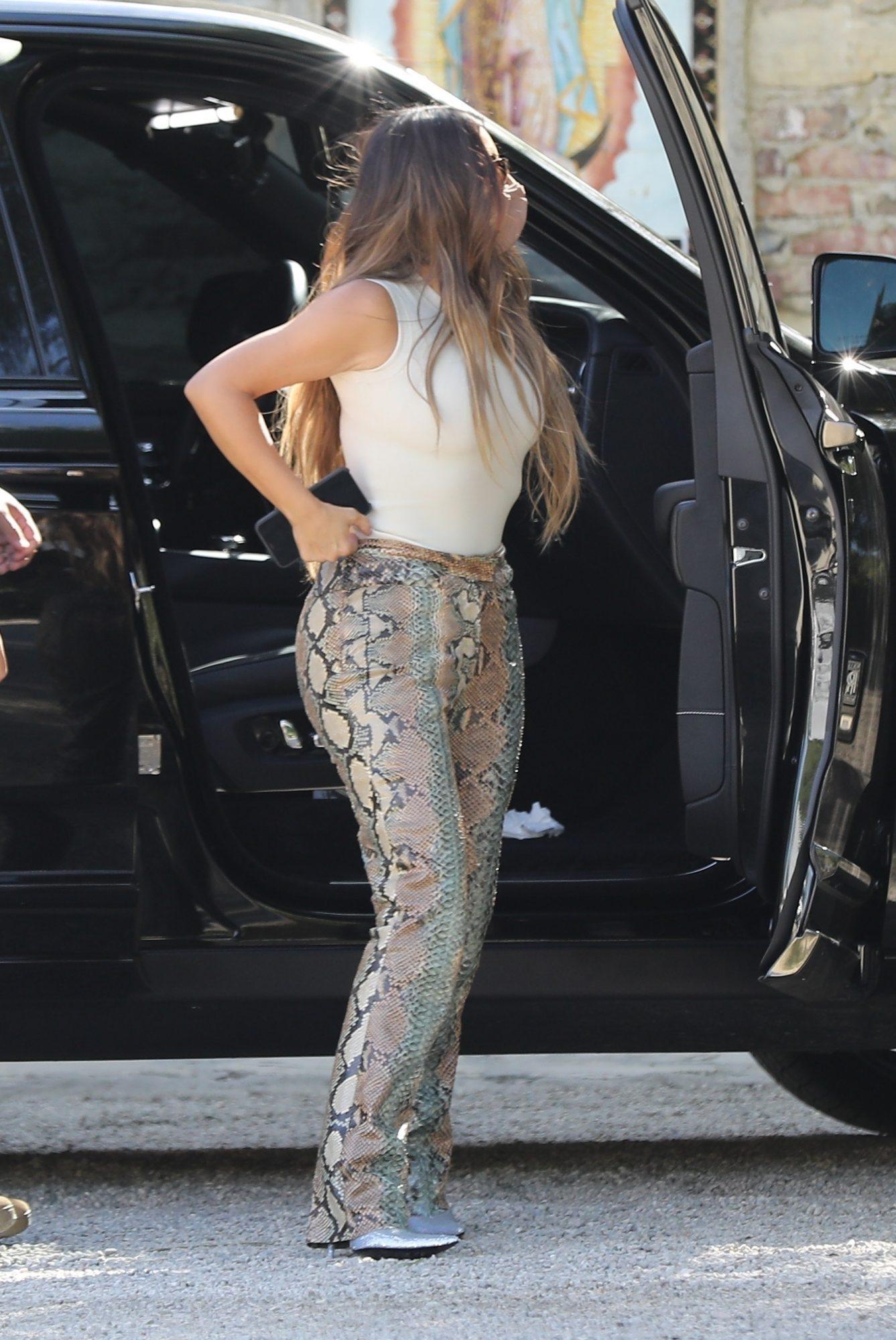 Kim Kardashian, look